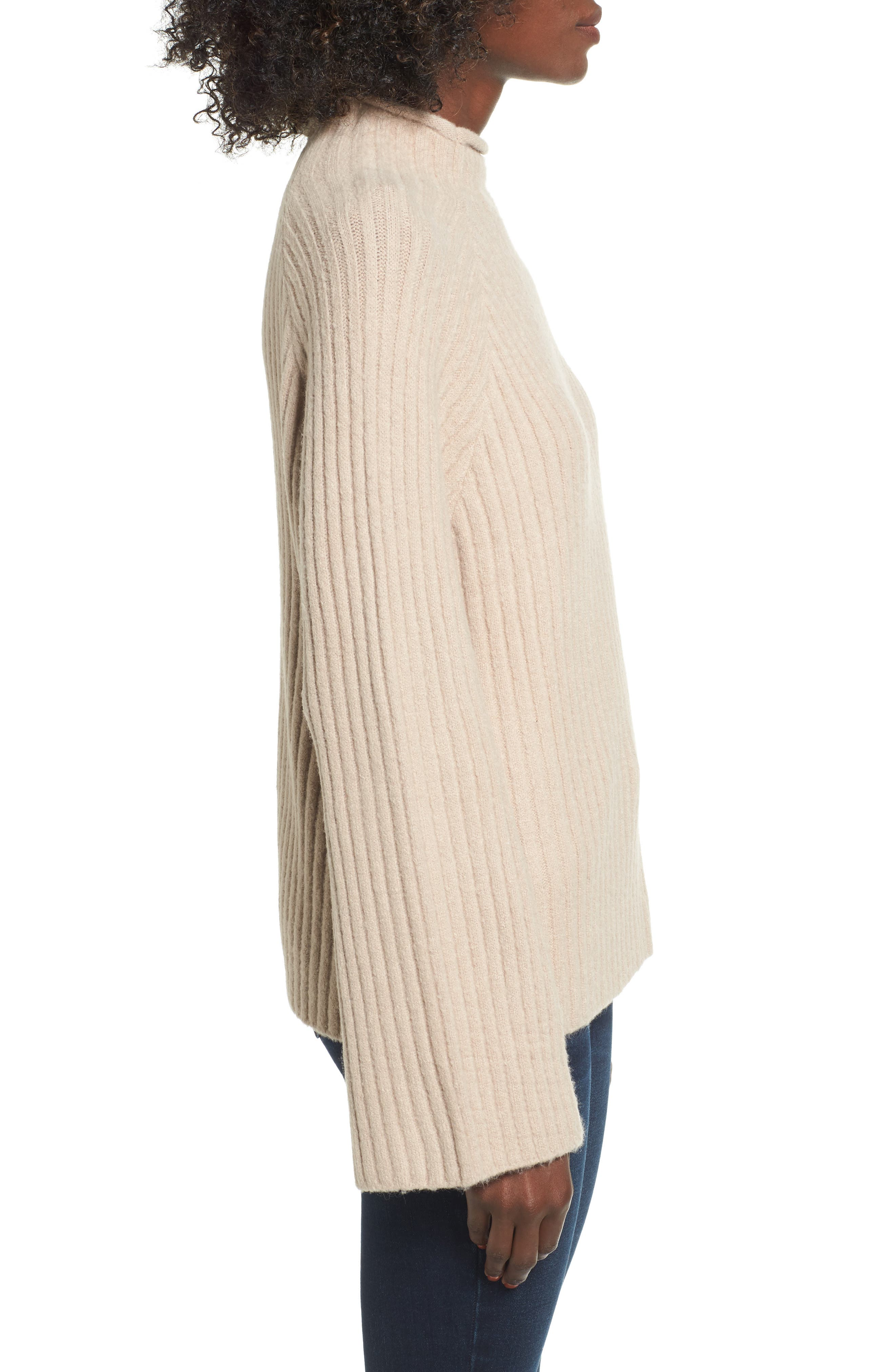 Alternate Image 3  - 4SI3NNA Bell Sleeve Sweater