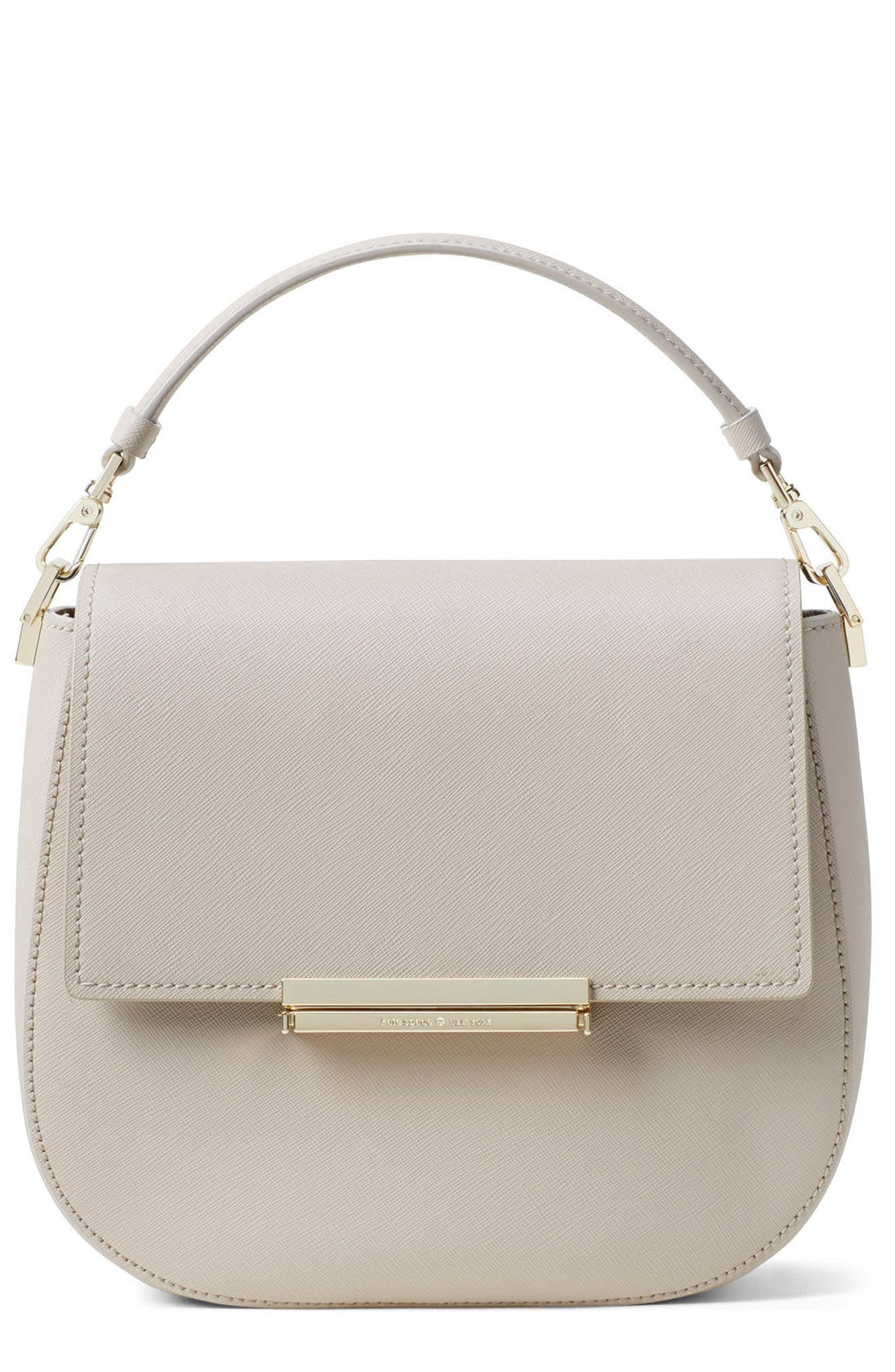 Alternate Image 1 Selected - kate spade new york make it mine - byrdie leather saddle bag