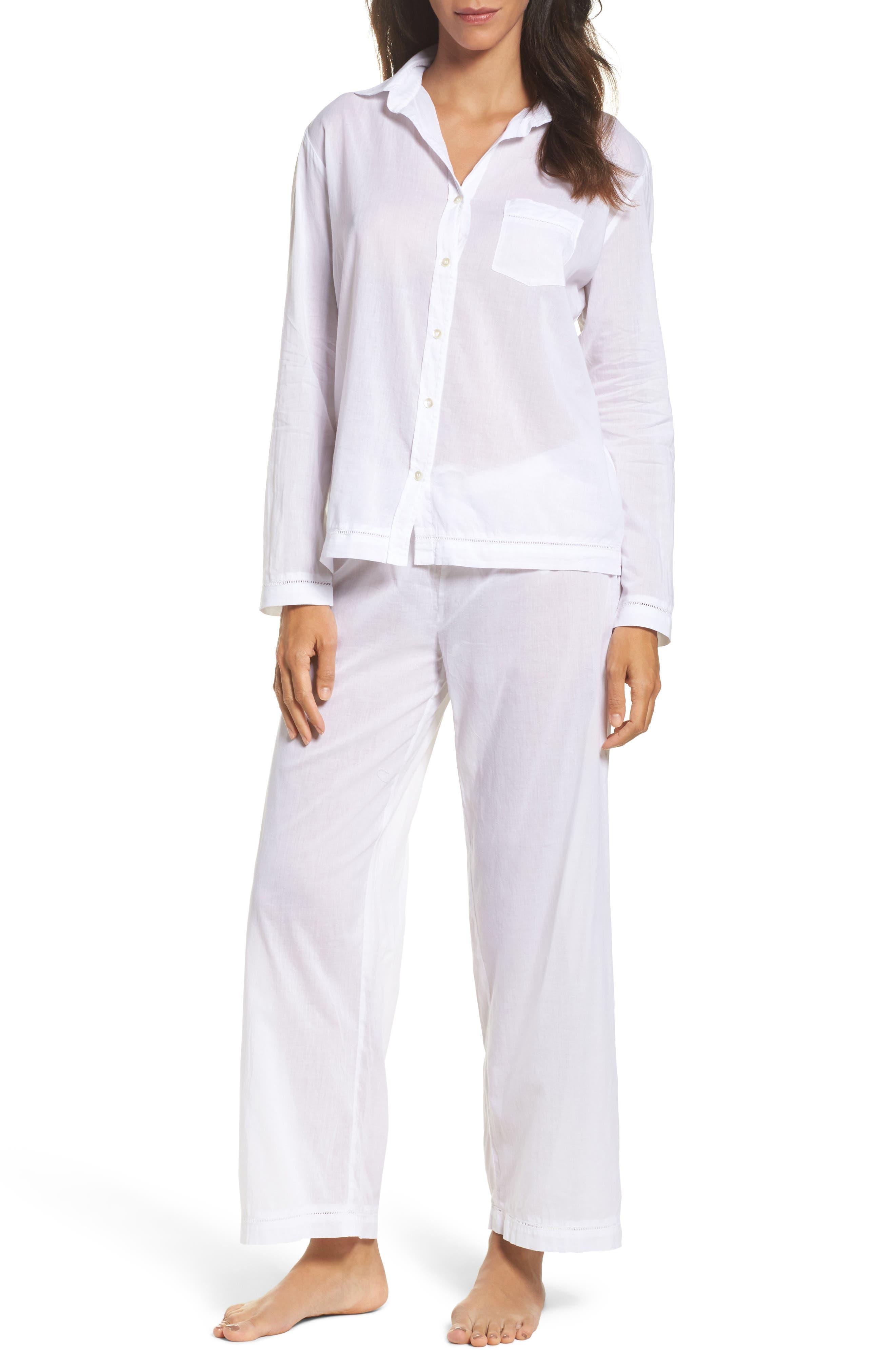 Alternate Image 1 Selected - Pour Les Femmes Classic Pajamas