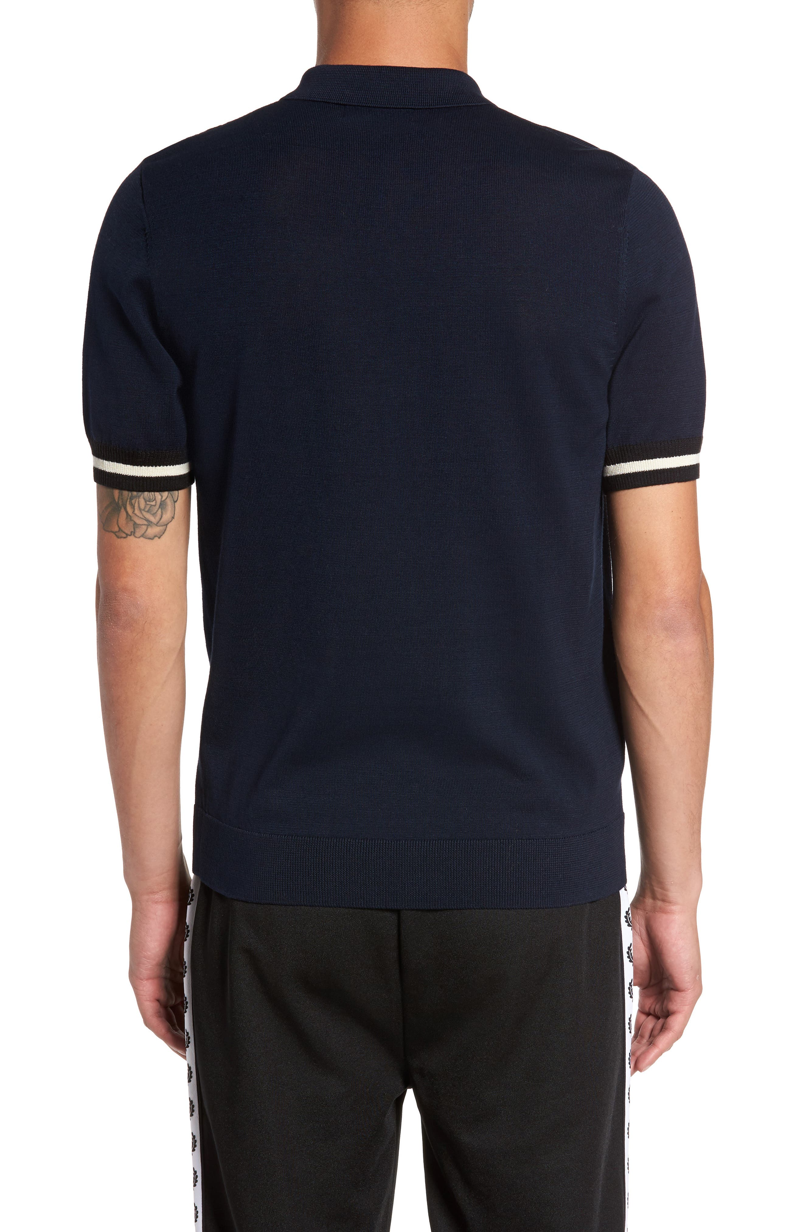 Alternate Image 2  - Fred Perry Trim Fit Stripe Polo