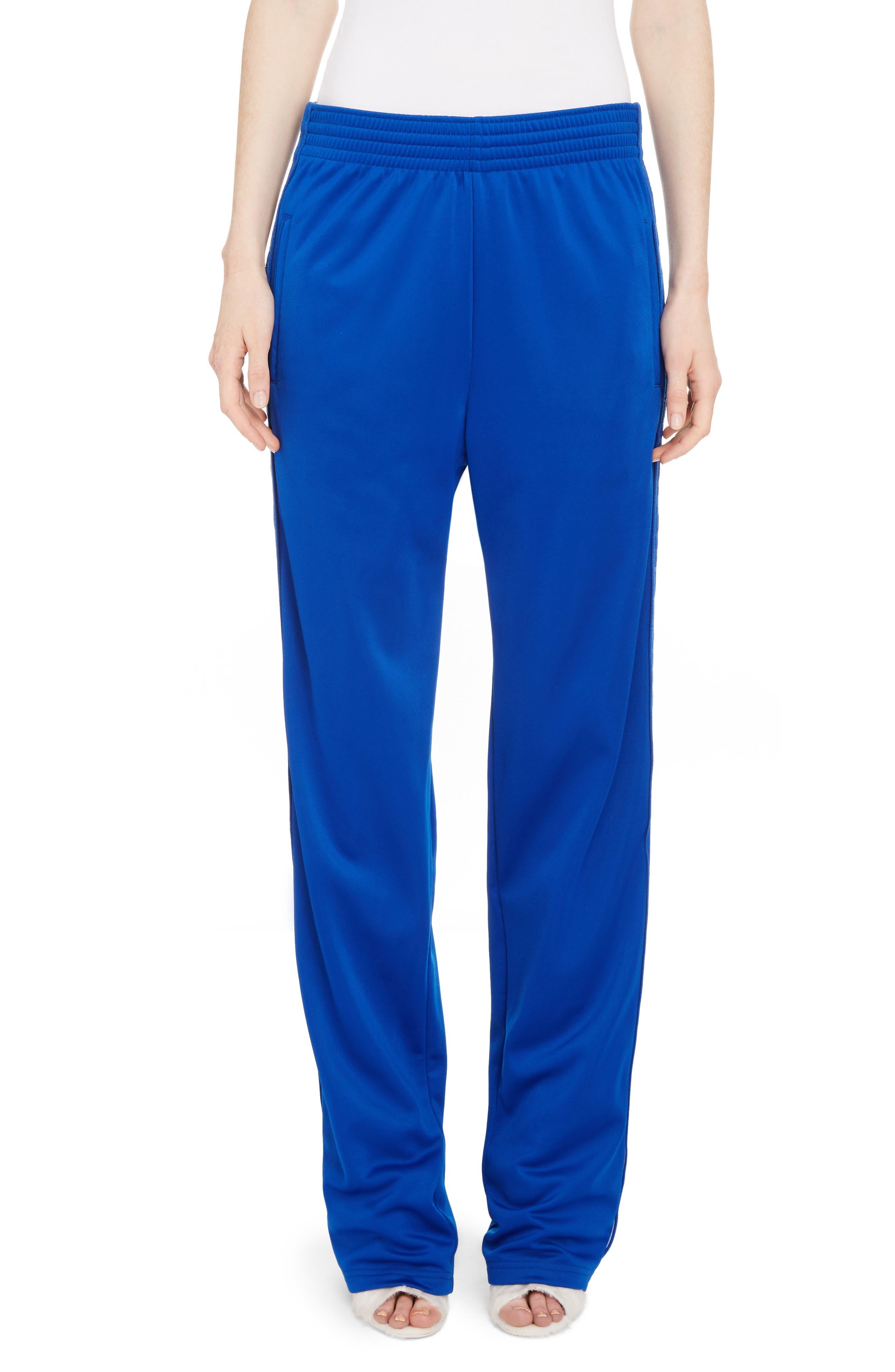 Tonal Logo Track Pants,                         Main,                         color, Electric Blue