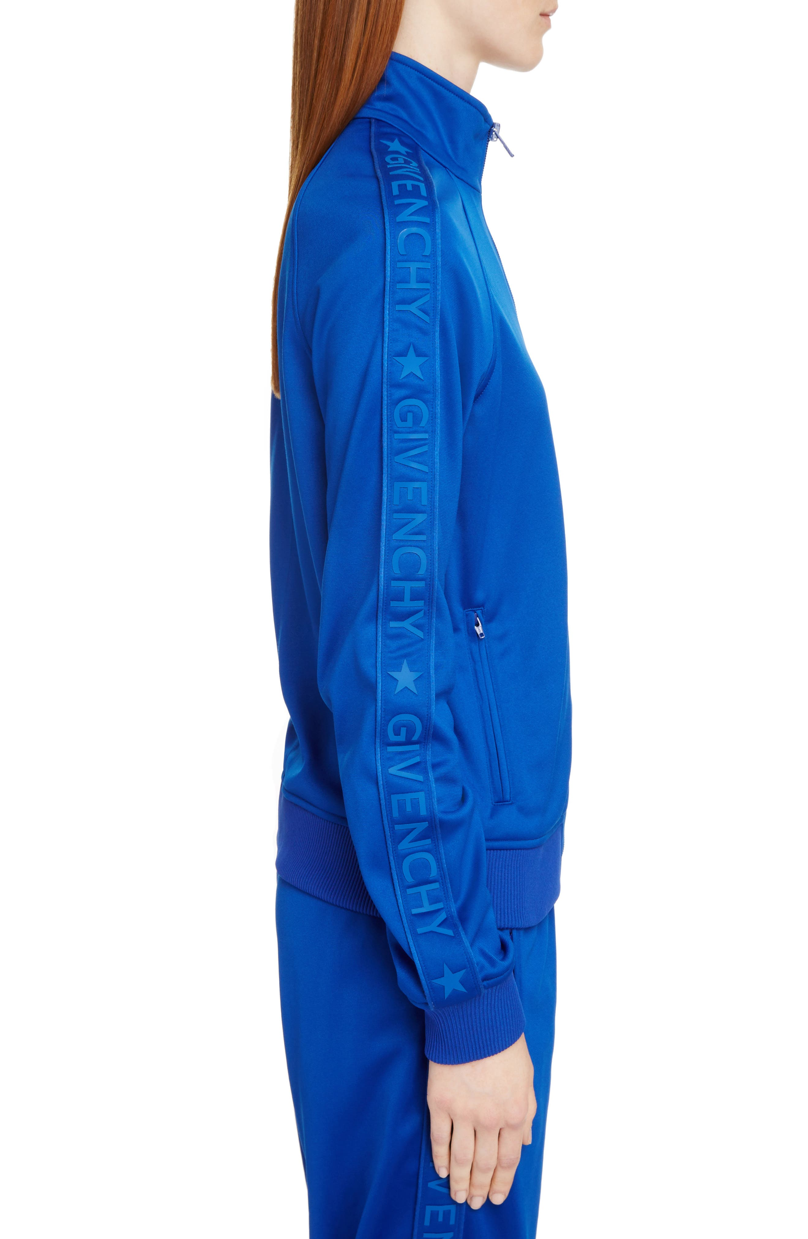Tonal Logo Track Jacket,                             Alternate thumbnail 2, color,                             Electric Blue