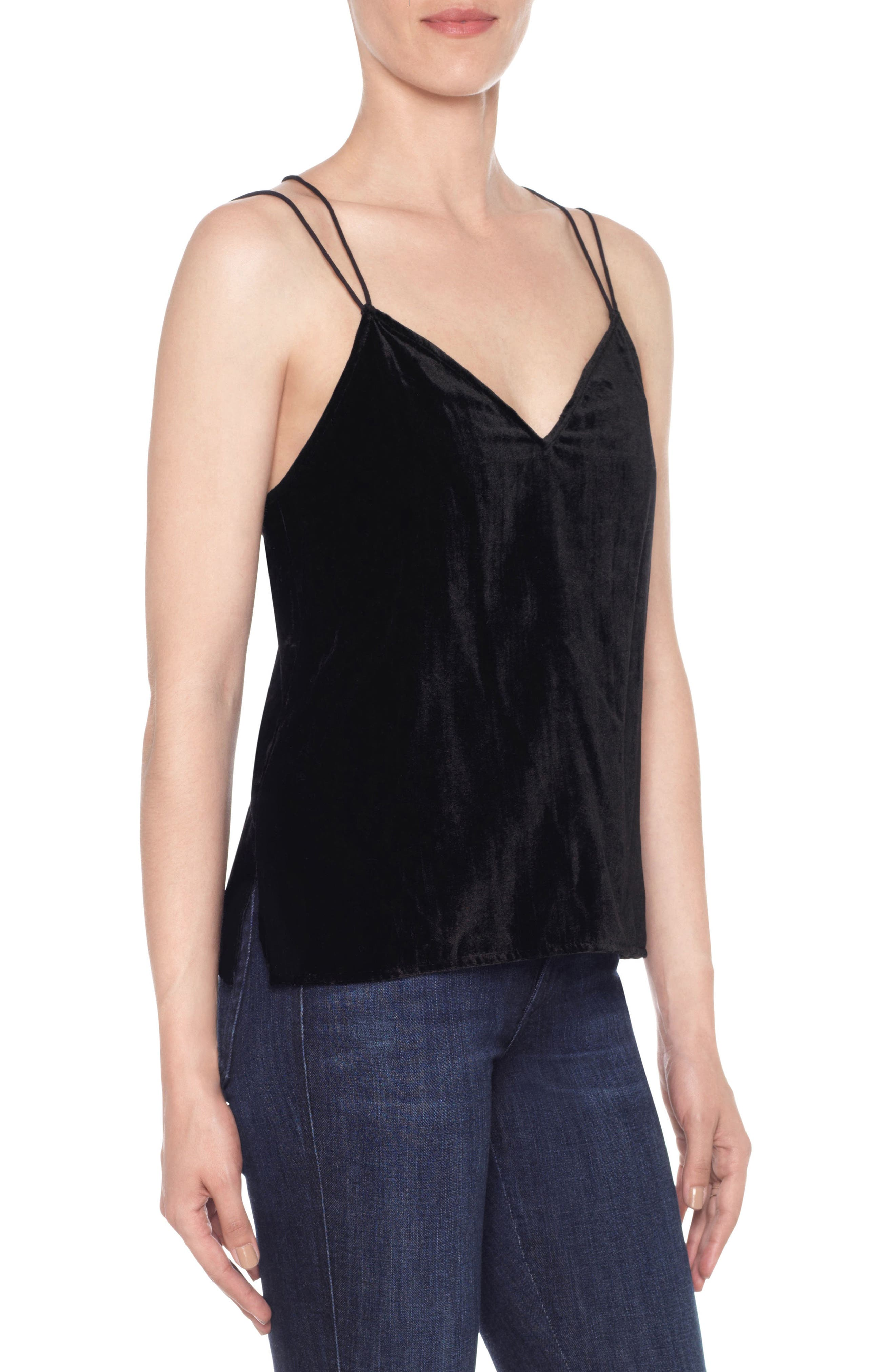 Alternate Image 1 Selected - Joe's Sadie Velvet Camisole