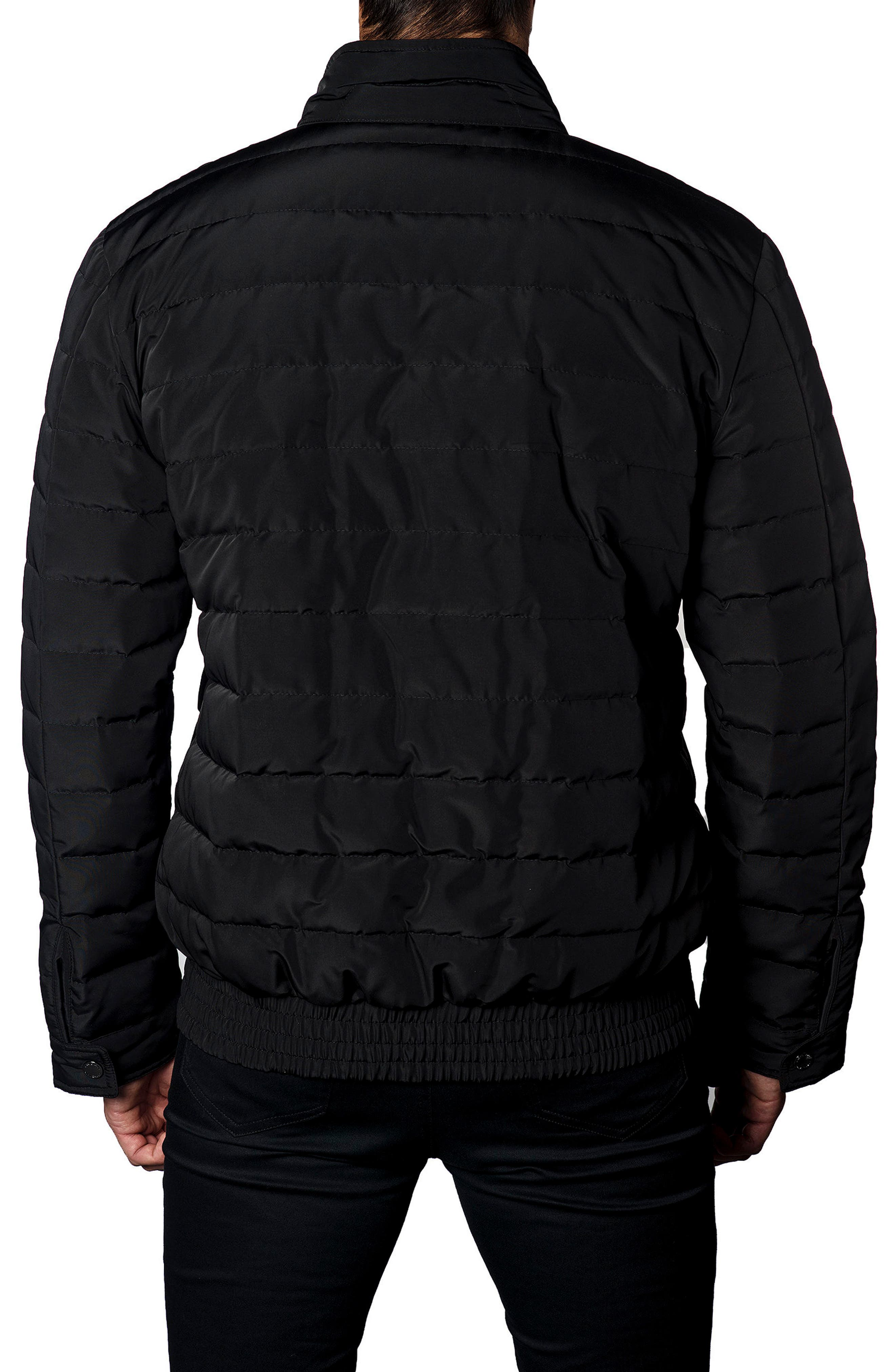 Chicago Down Puffer Jacket,                             Alternate thumbnail 2, color,                             Black