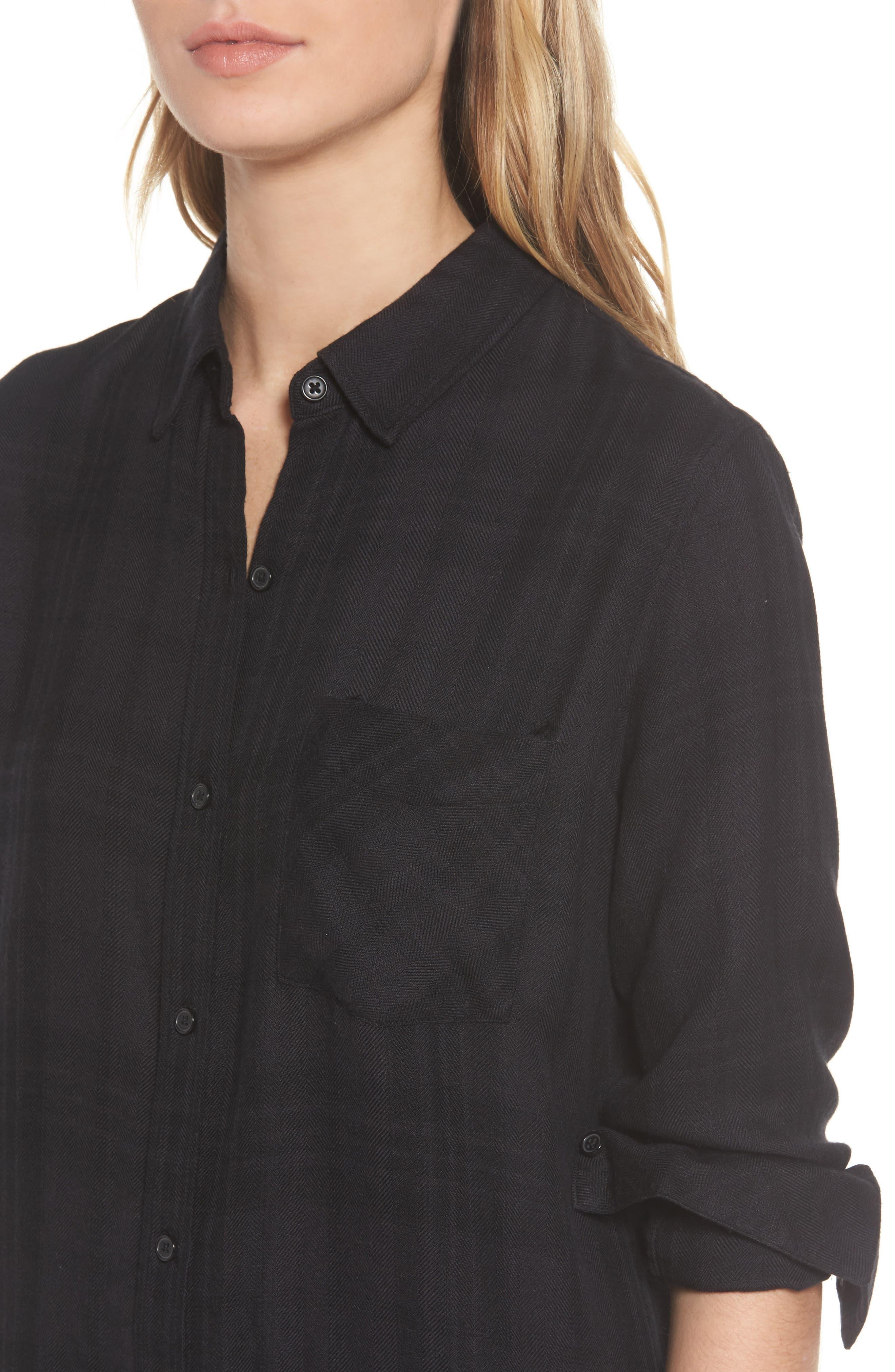 Alternate Image 4  - Rails Bianca Shirtdress