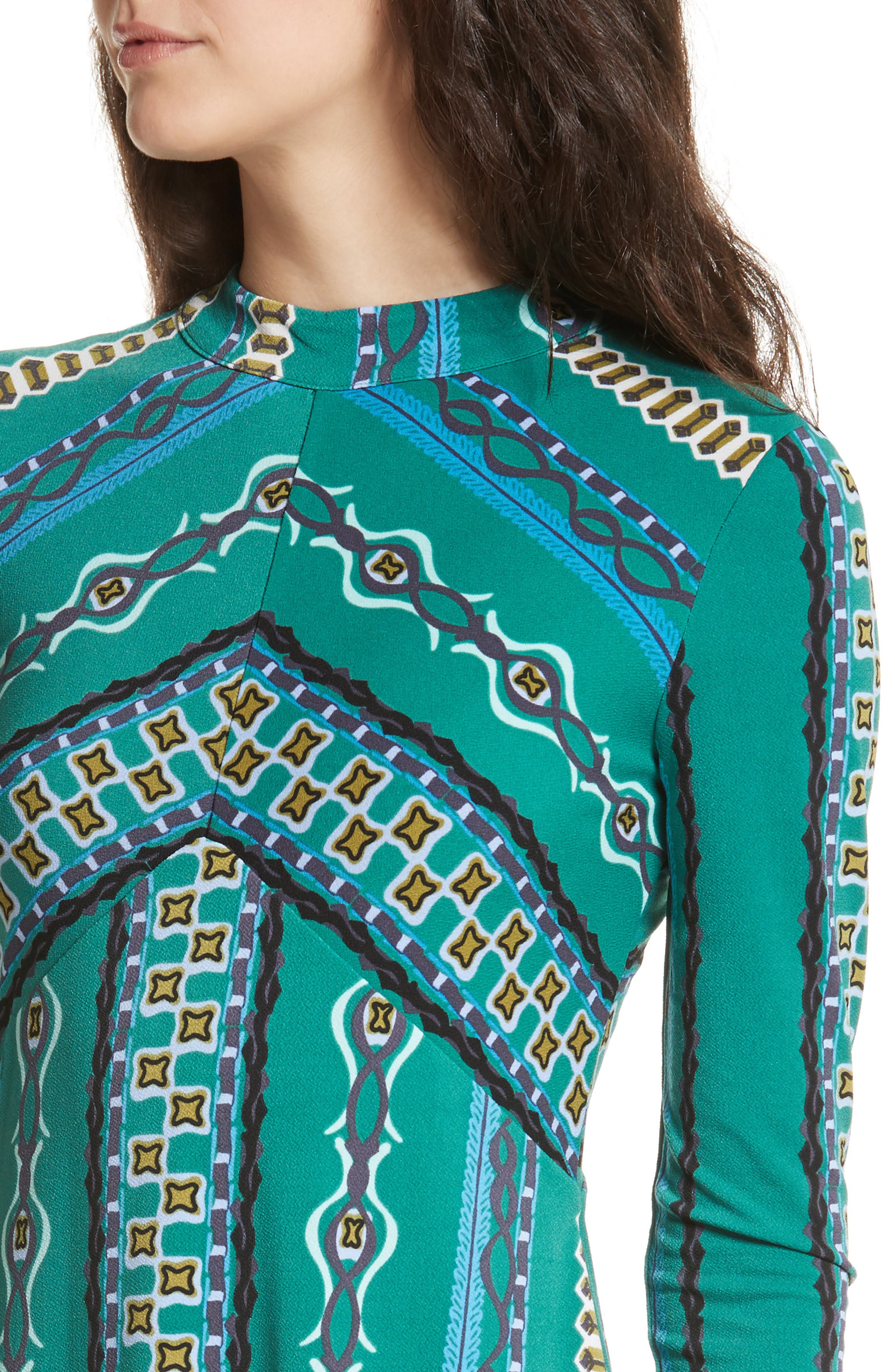 Alternate Image 4  - Free People 'Stella' Graphic Print Minidress