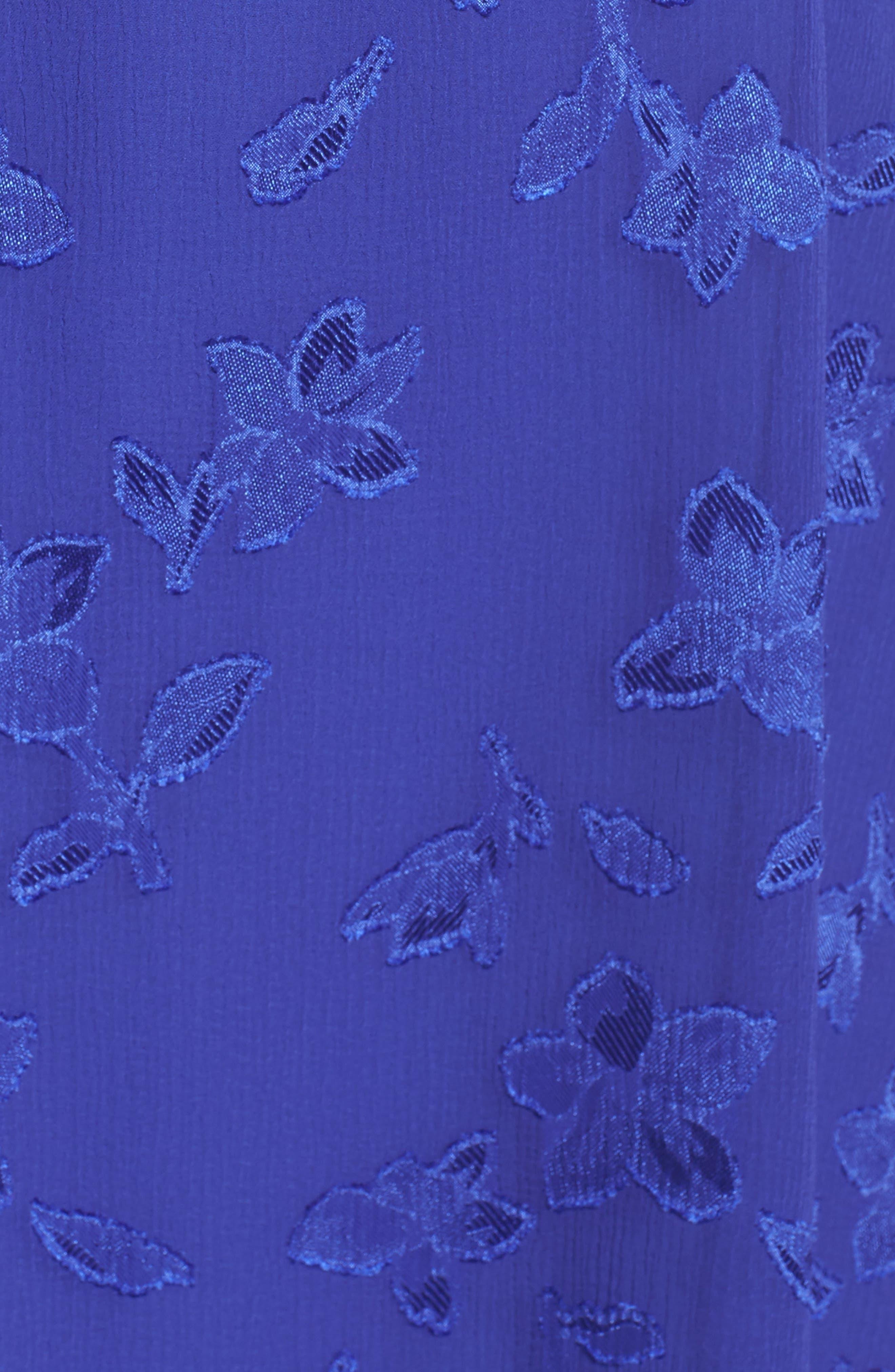Alternate Image 5  - 19 Cooper Jacquard Flower Popover Dress