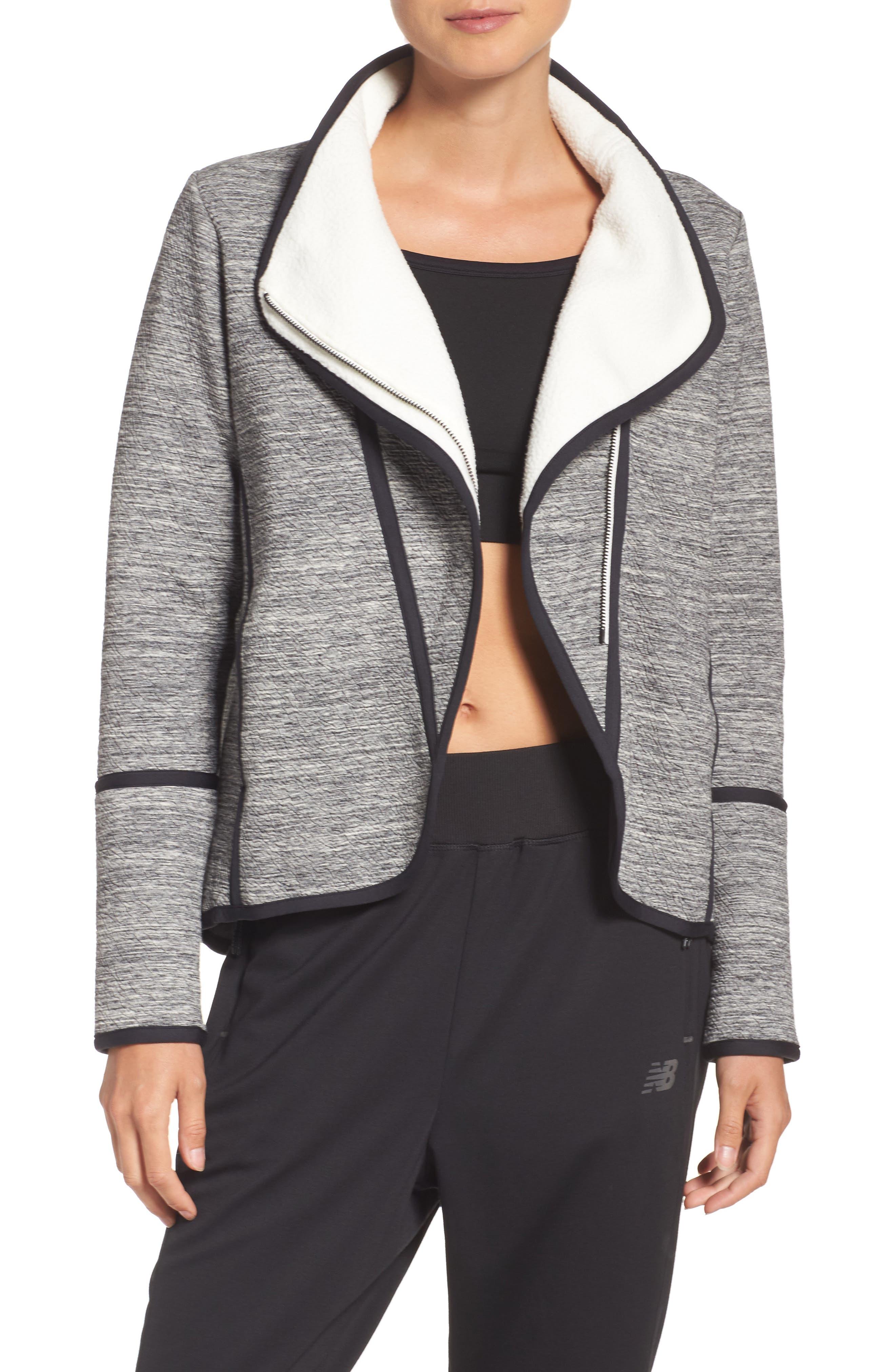 new balance intensity jacket. new balance studio en route jacket intensity