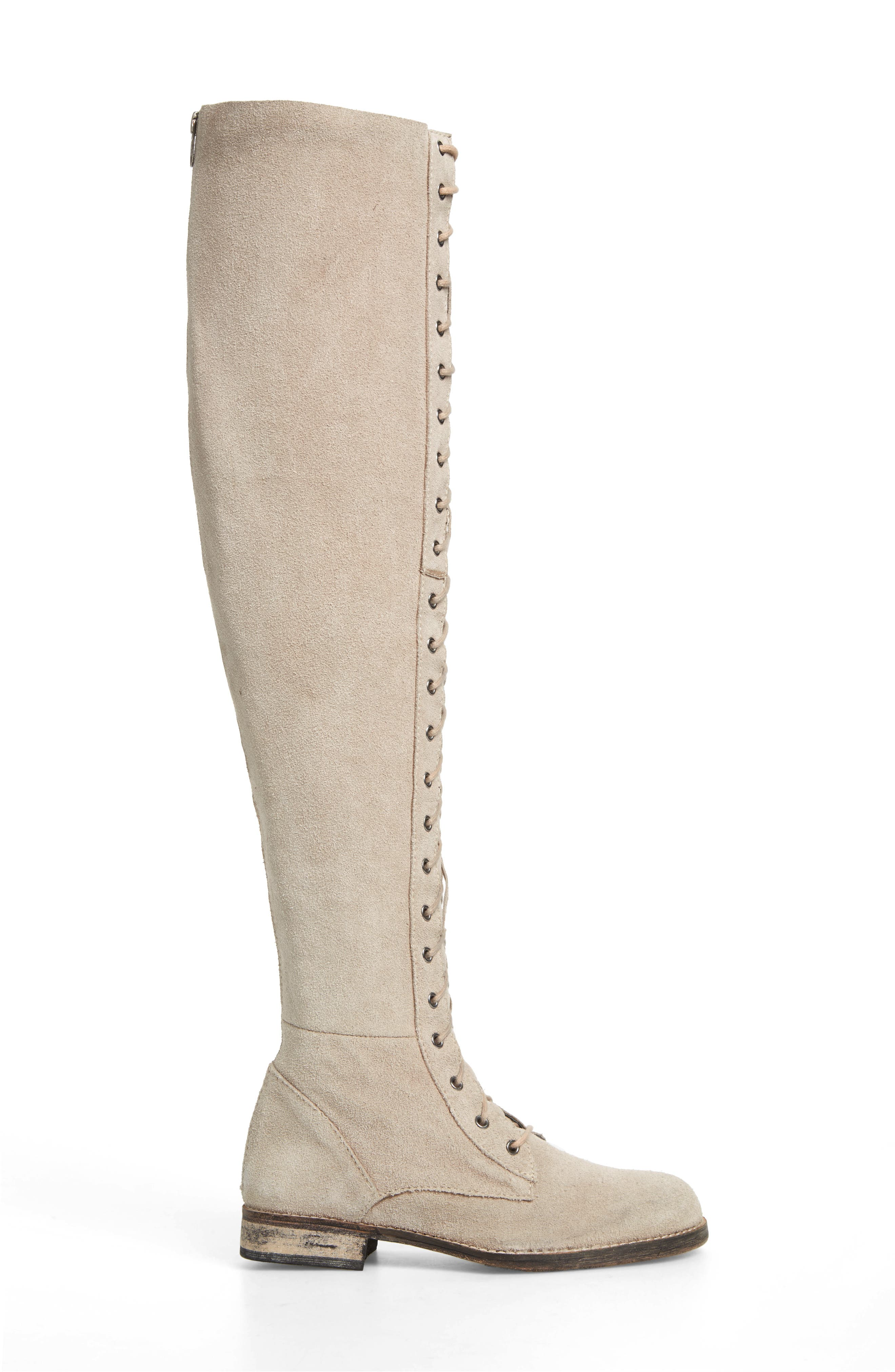 Alternate Image 3  - Free People Tennessee Over the Knee Boot (Women)