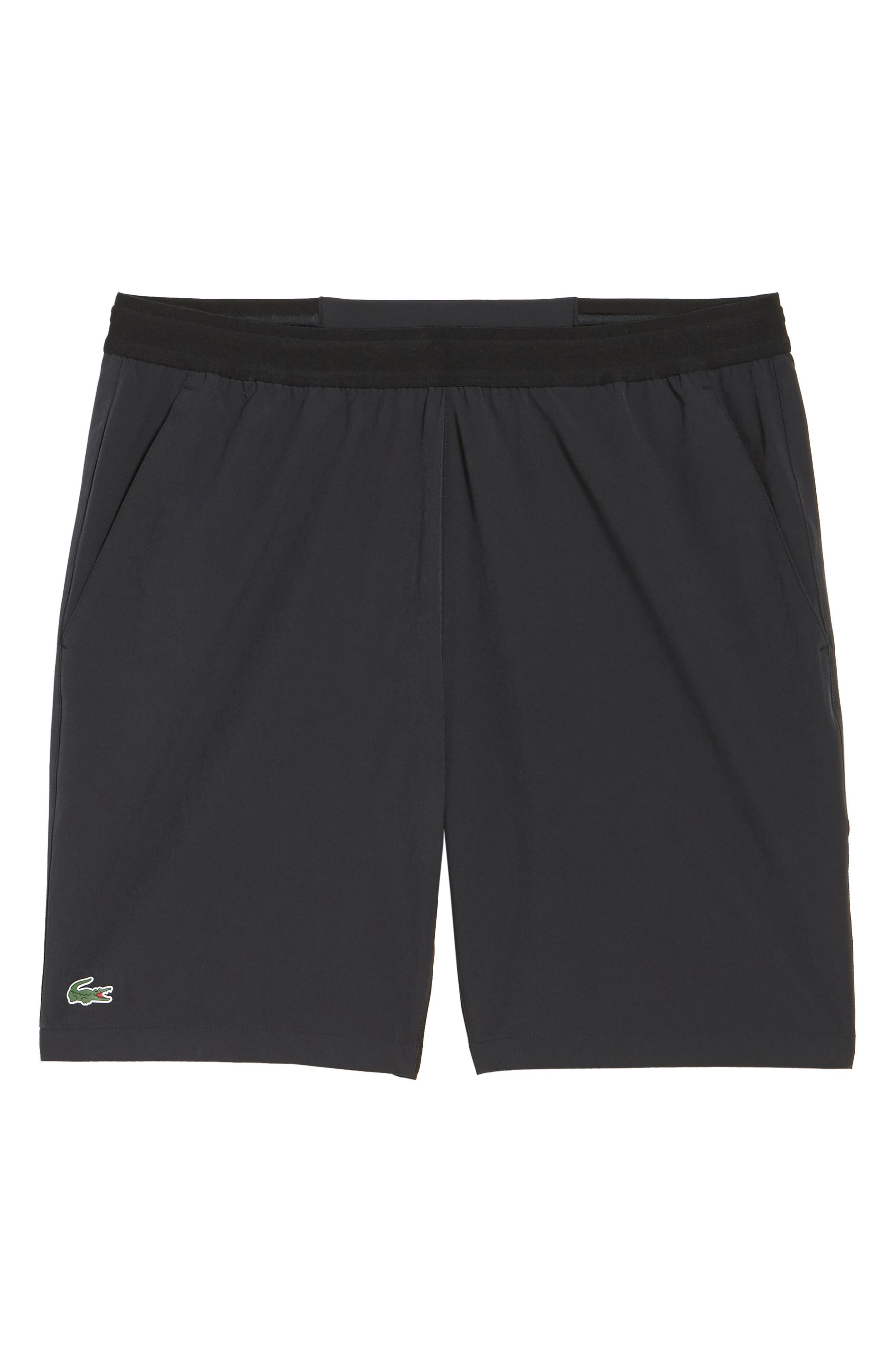 Stretch Sport Shorts,                             Alternate thumbnail 6, color,                             Black