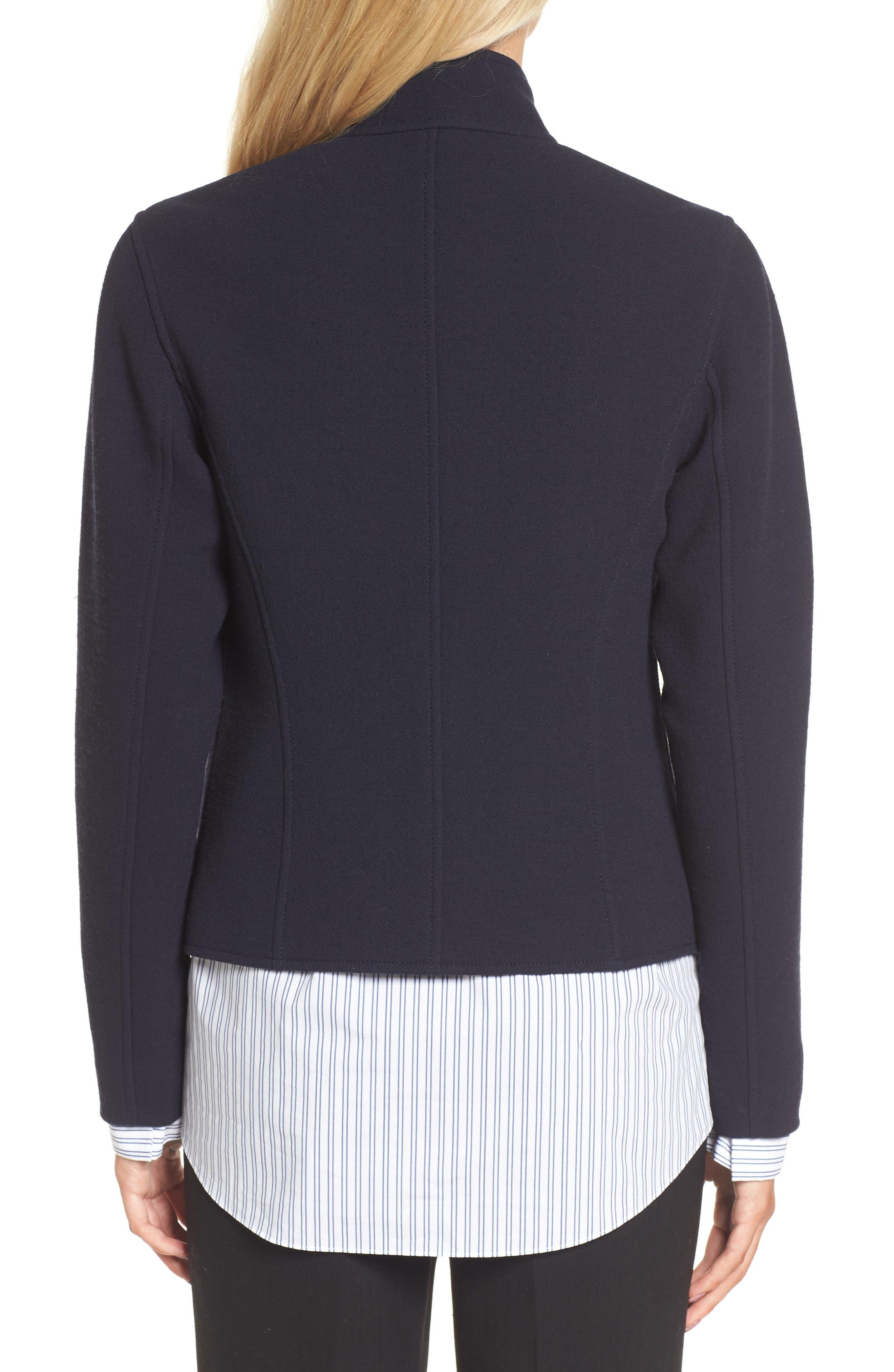 Alternate Image 2  - Lewit Fitted Wool Jacket