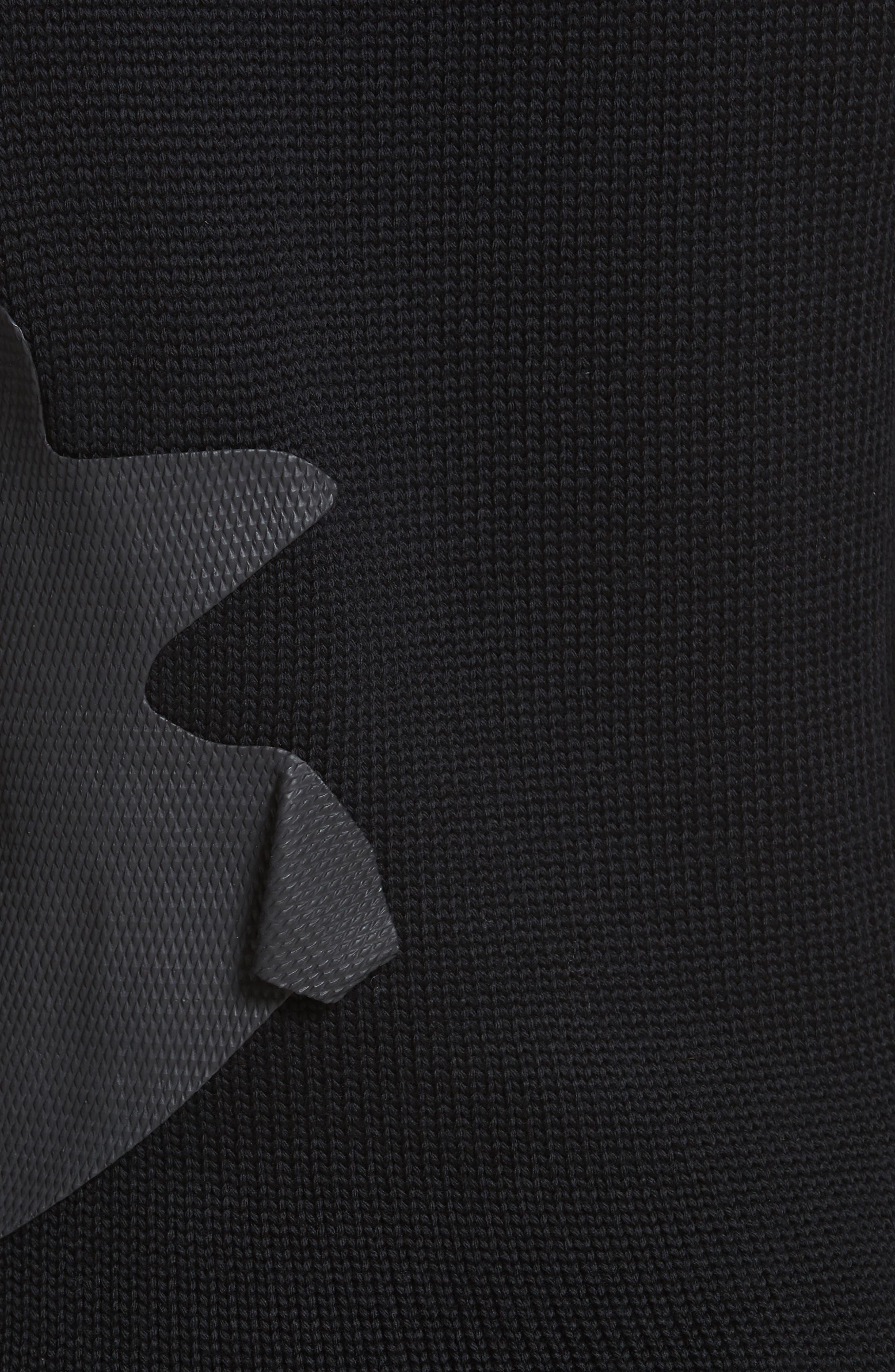 Alternate Image 5  - Comme des Garçons Rubber Detail Wool Sweater