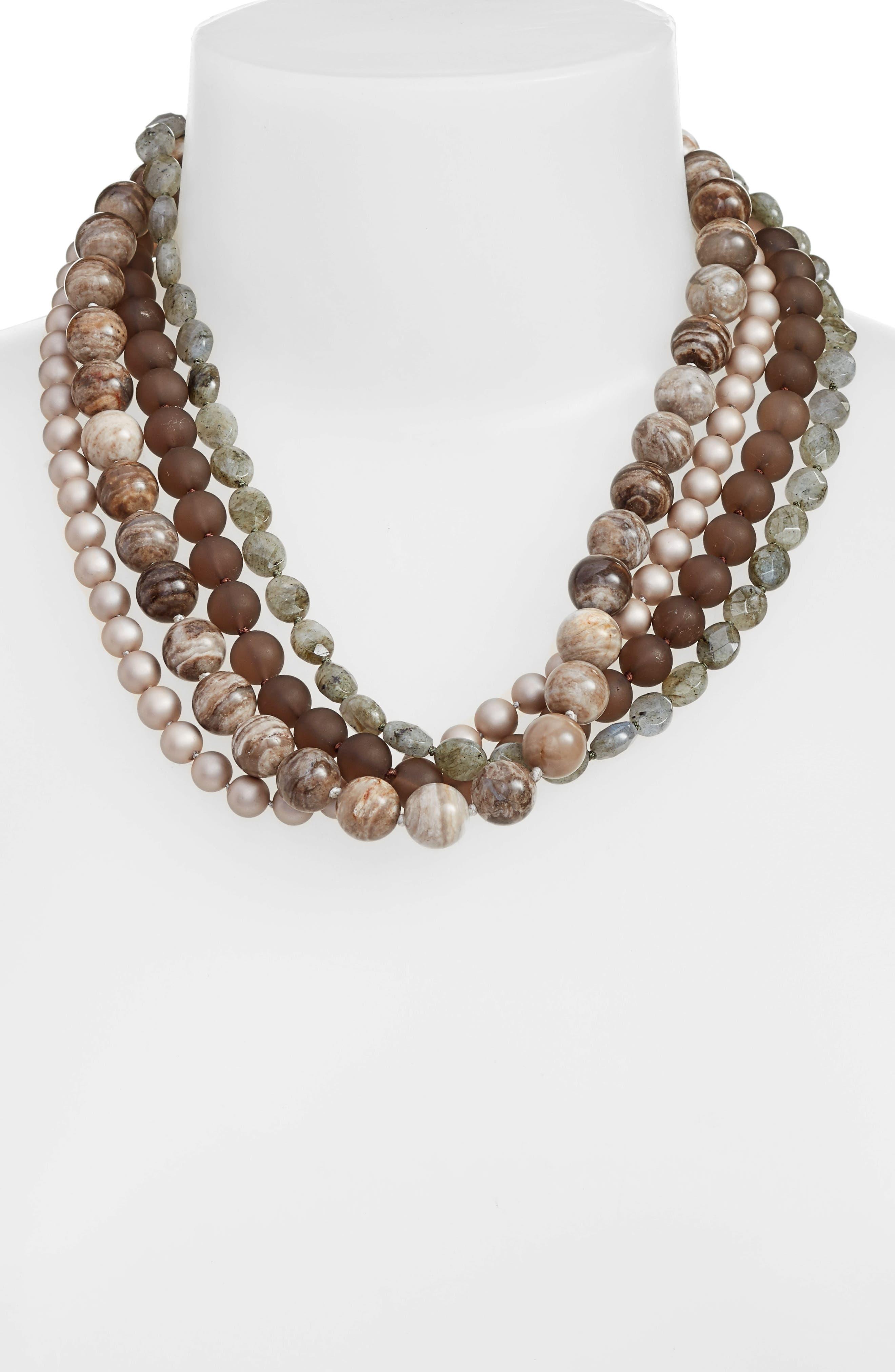 Alternate Image 2  - Simone Sebbag Multistrand Beaded Necklace