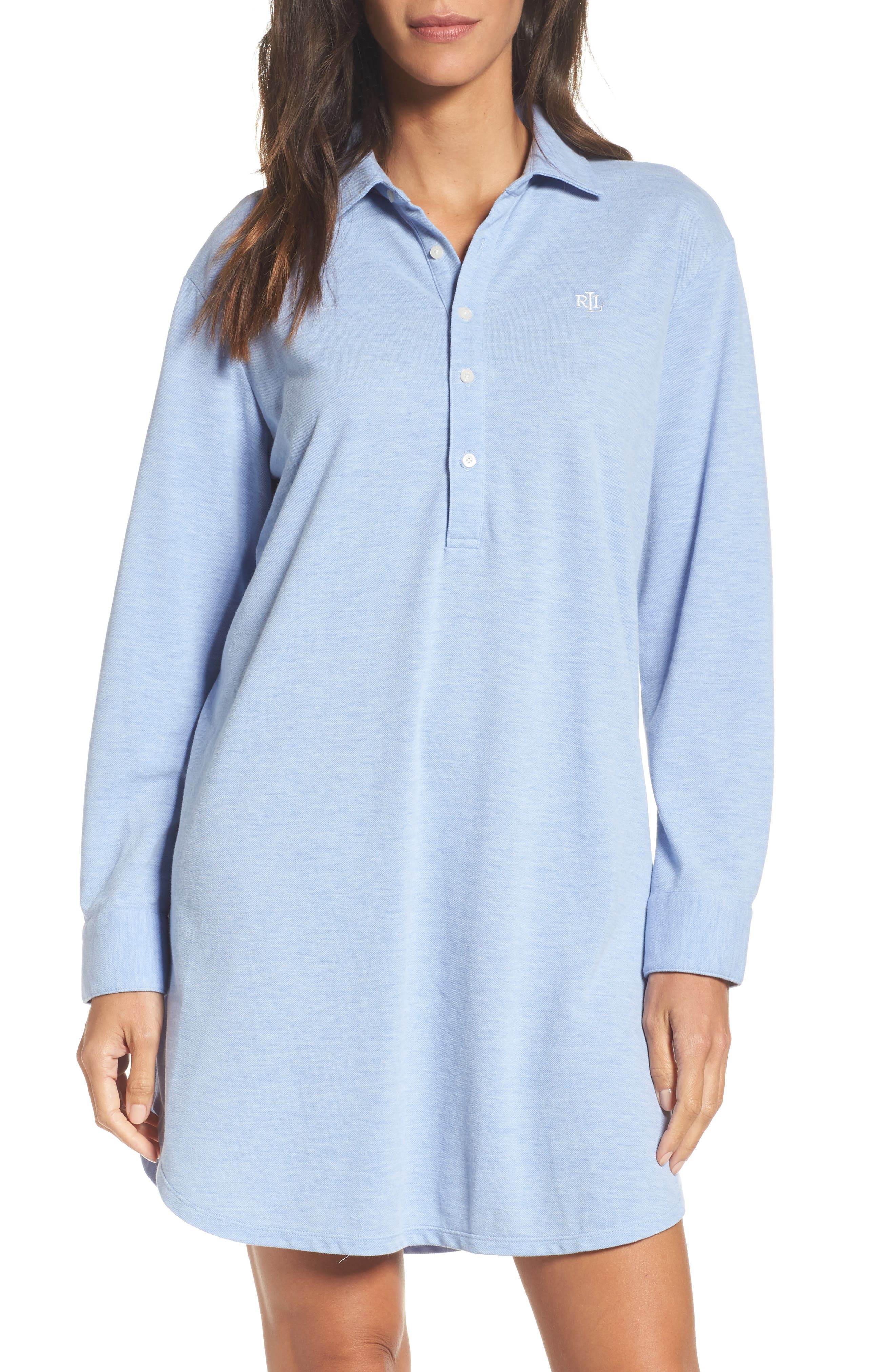 Lauren Ralph Lauren Popover Sleep Shirt