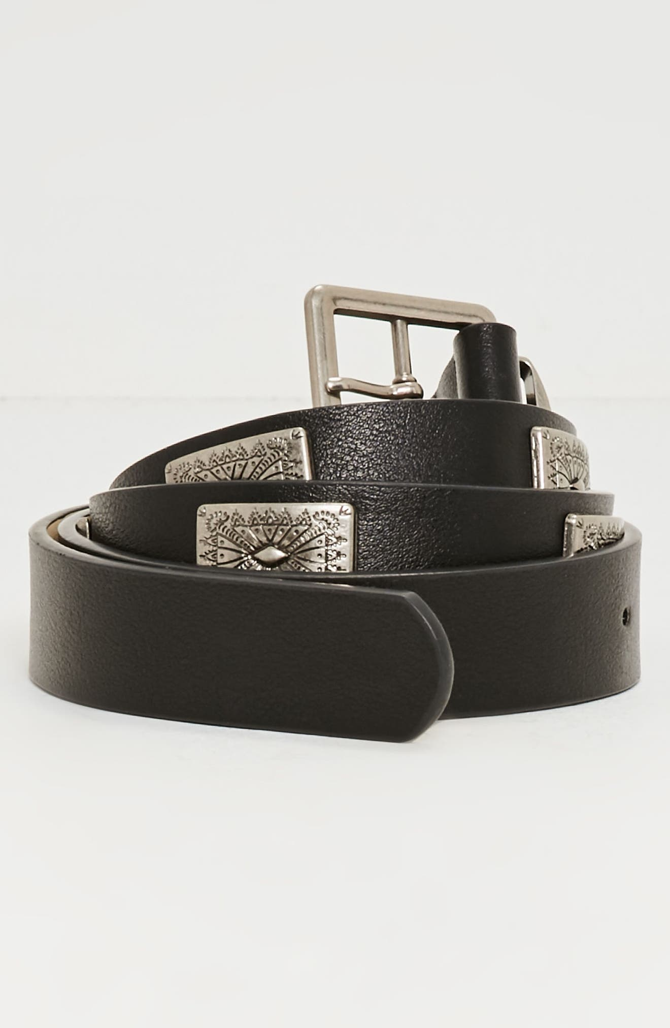 Alternate Image 2  - Missguided Western Faux Leather Belt