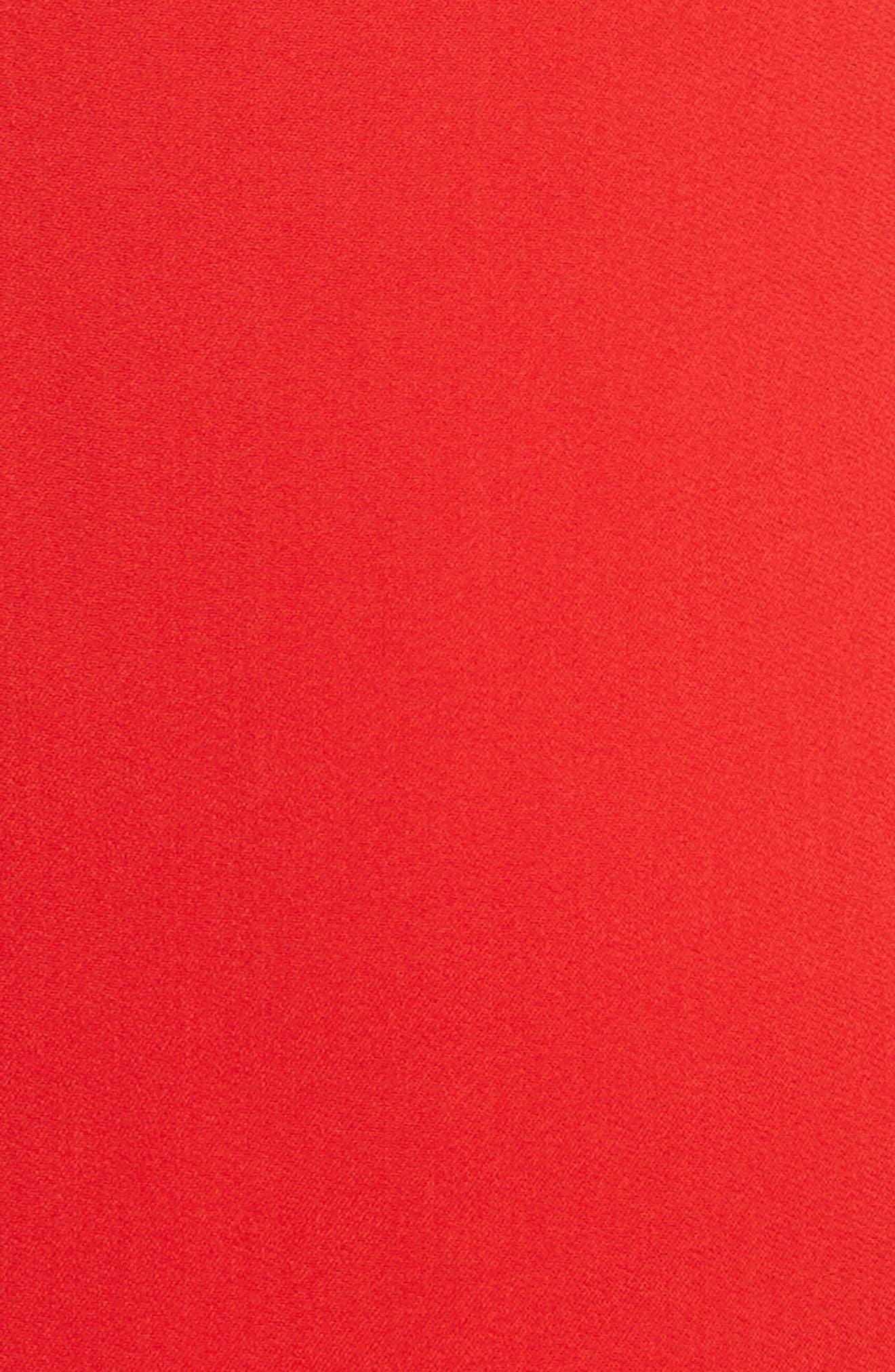 Alternate Image 7  - Stella McCartney Fringe Sleeve Stretch Cady Dress