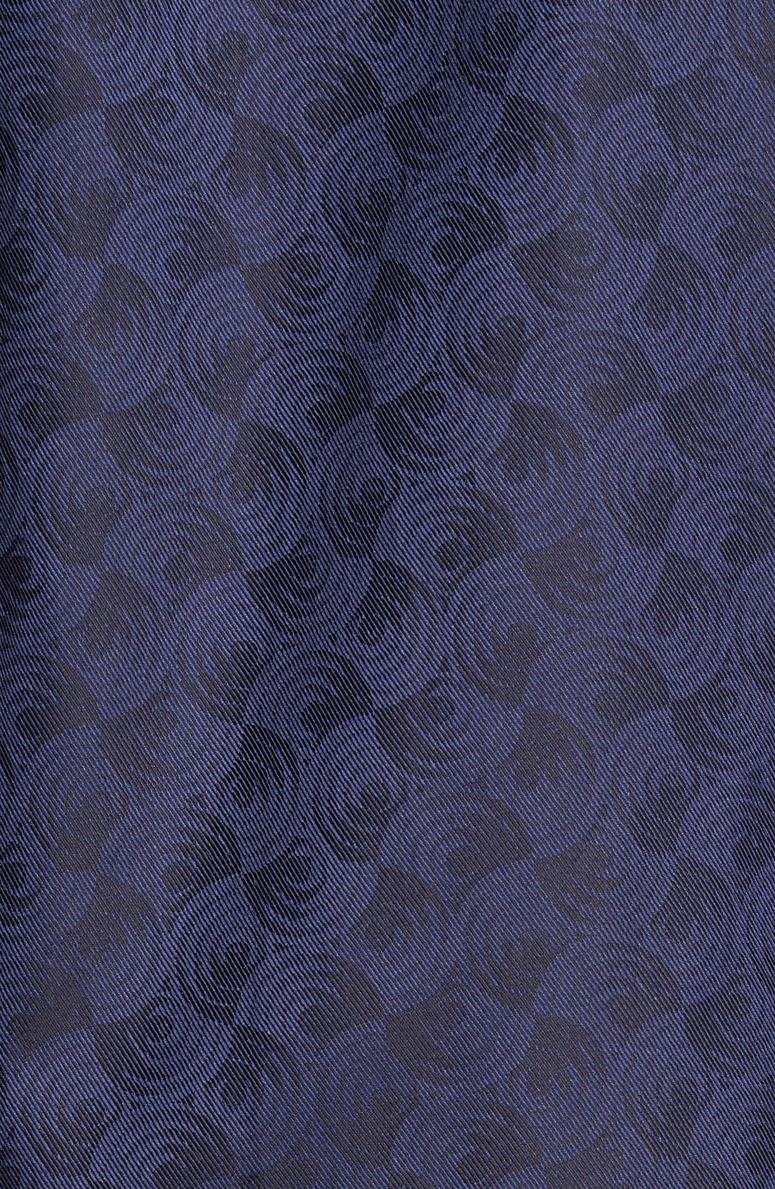 Alternate Image 5  - Bugatchi Classic Fit Swirl Print Sport Shirt