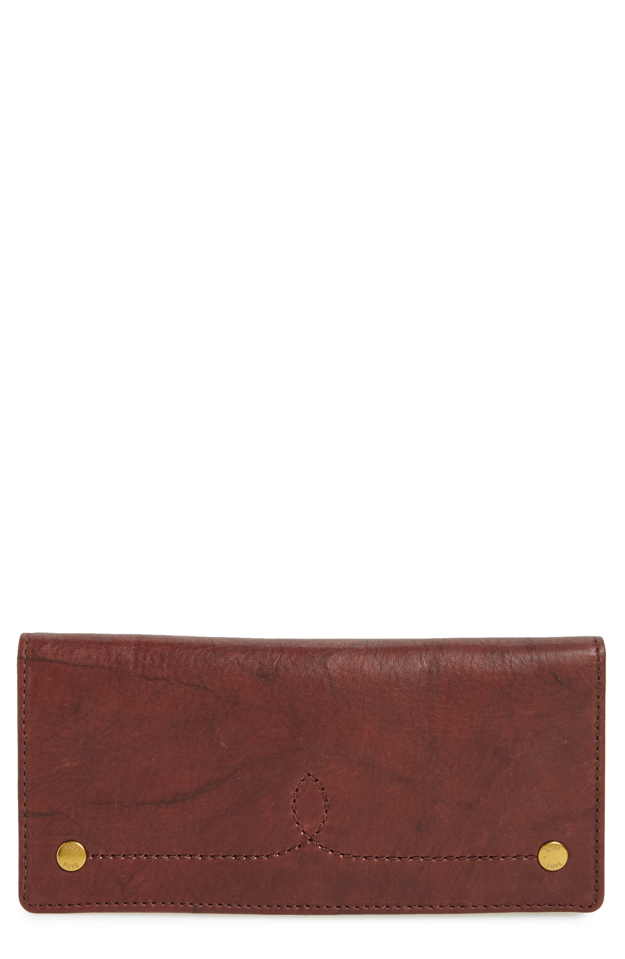Alternate Image 1 Selected - Frye Campus Rivet Slim Leather Wallet