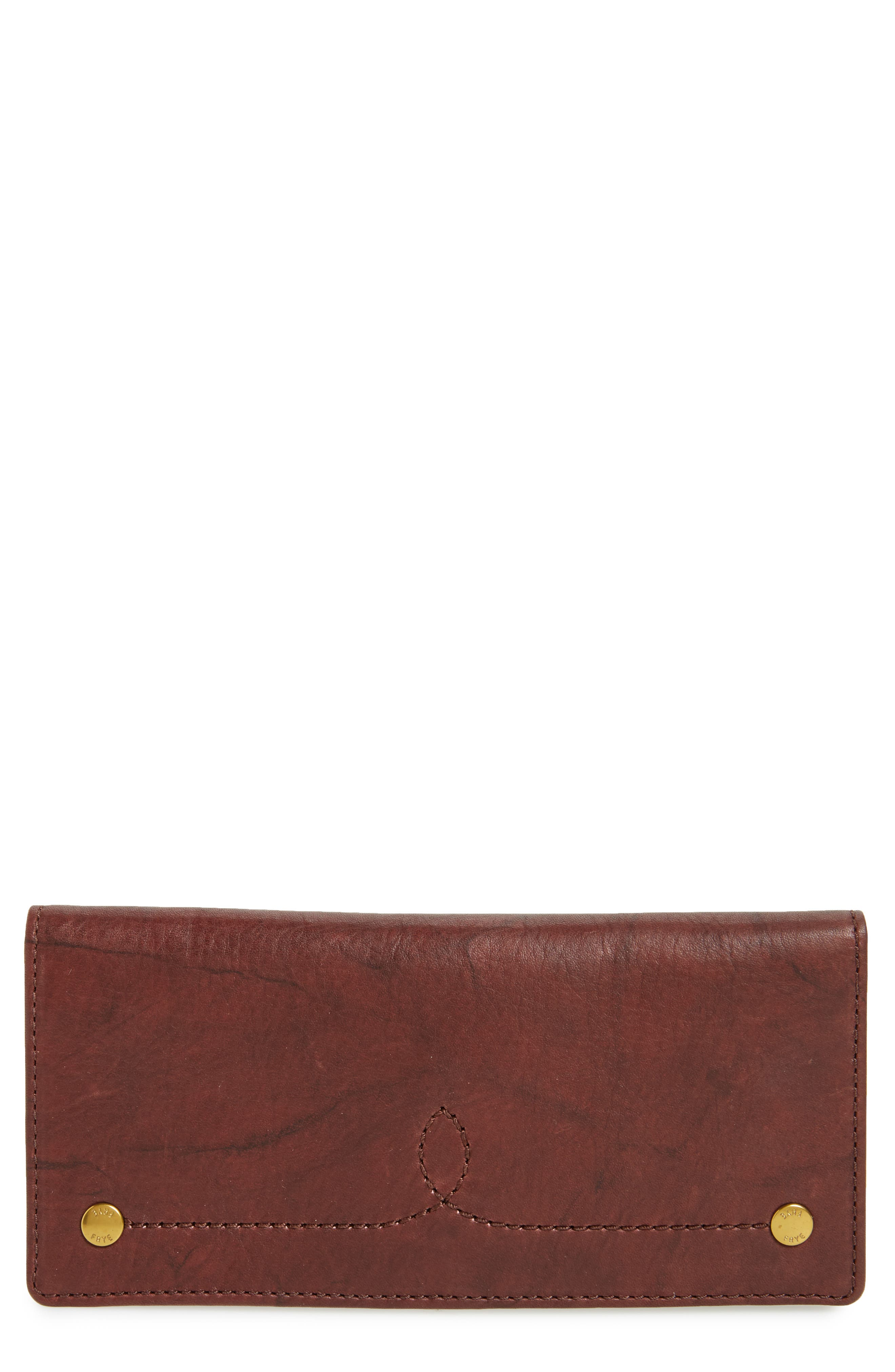 Main Image - Frye Campus Rivet Slim Leather Wallet