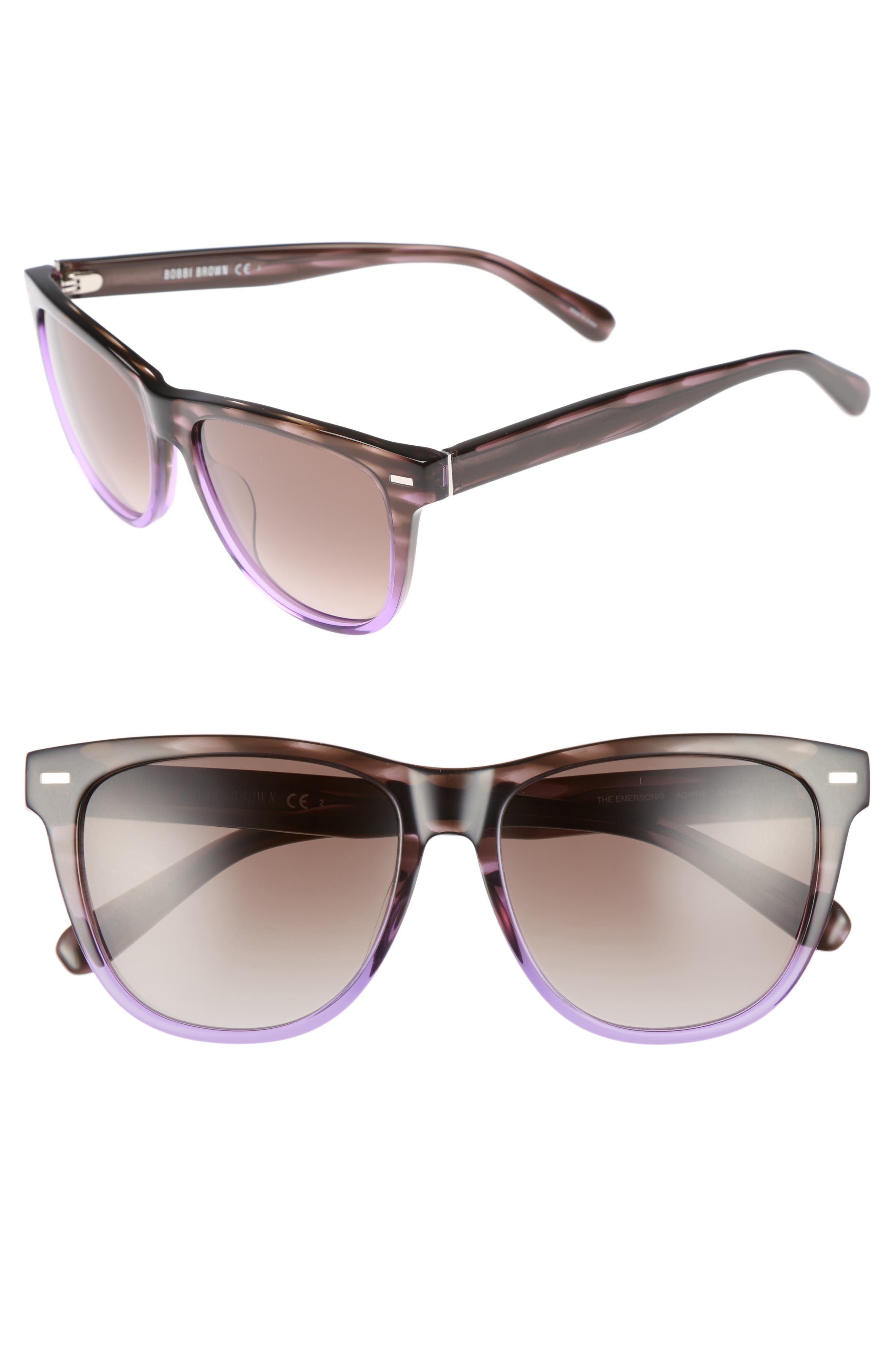 Bobbi Brown The Emerson 54mm Sunglasses
