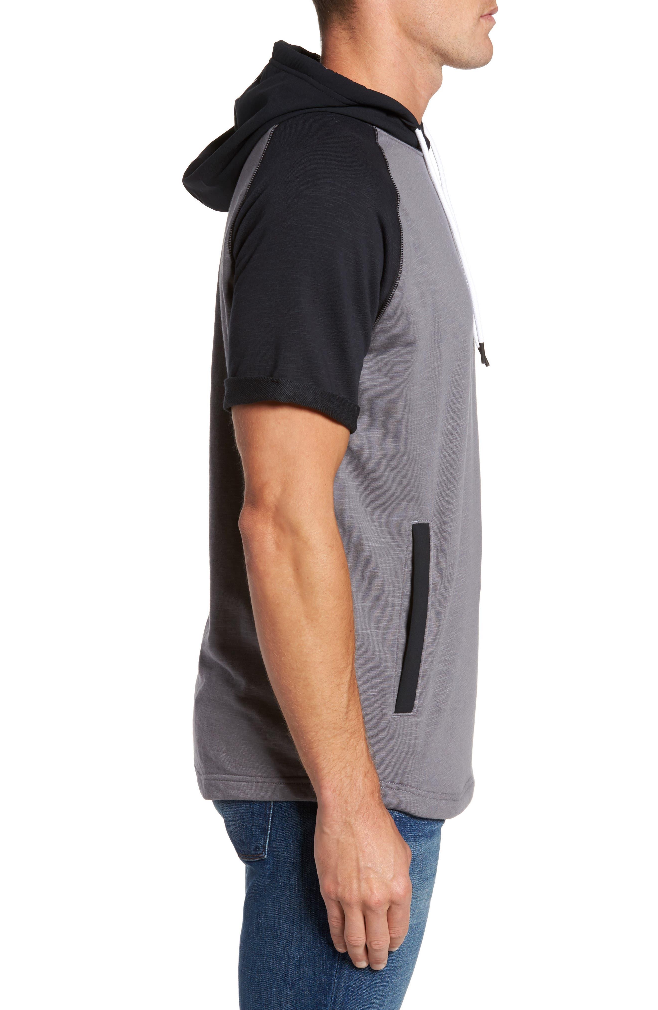 Alternate Image 3  - Under Armour Sportstyle Short Sleeve Hoodie