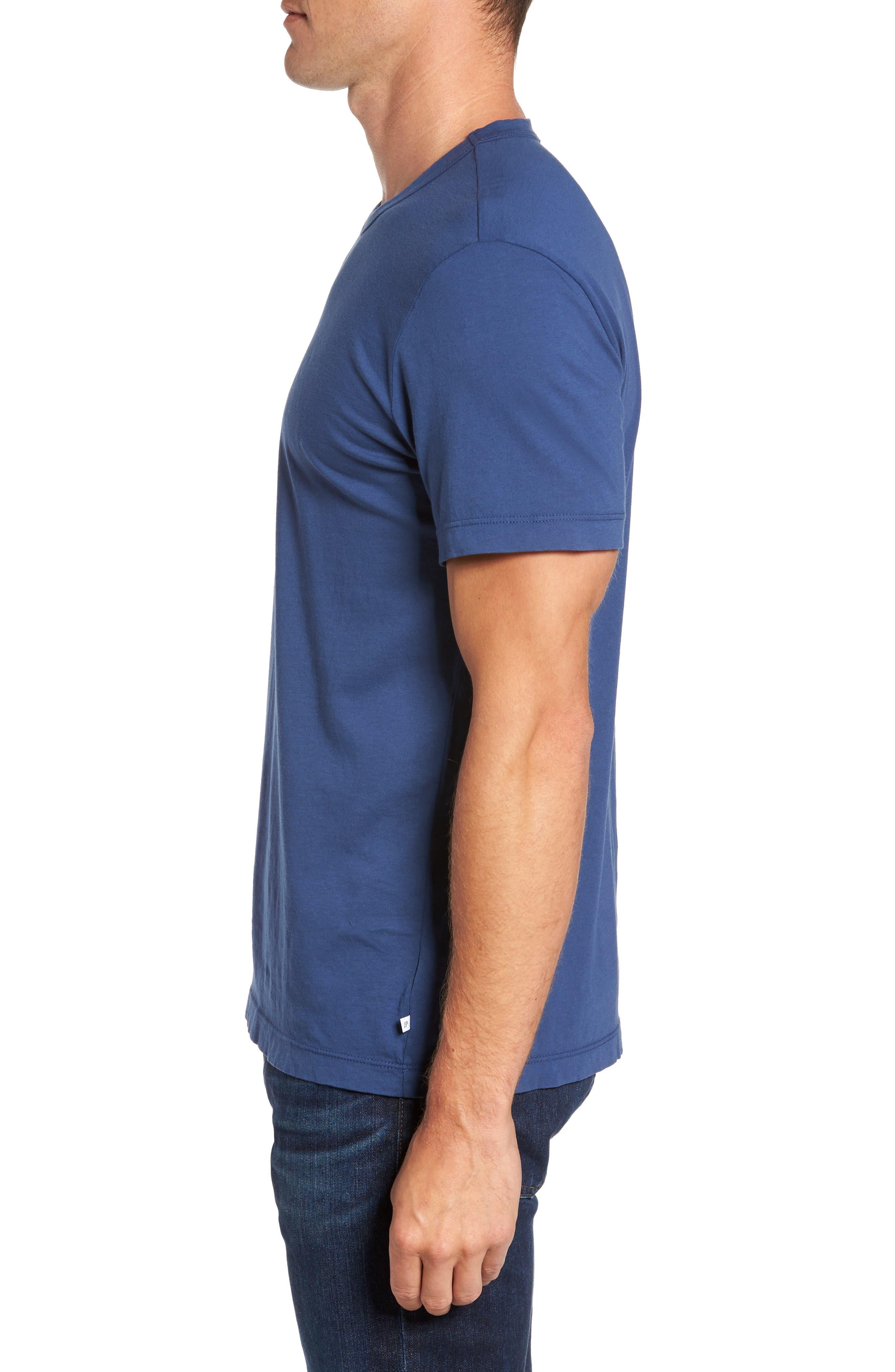 Alternate Image 3  - James Perse Crewneck Jersey T-Shirt