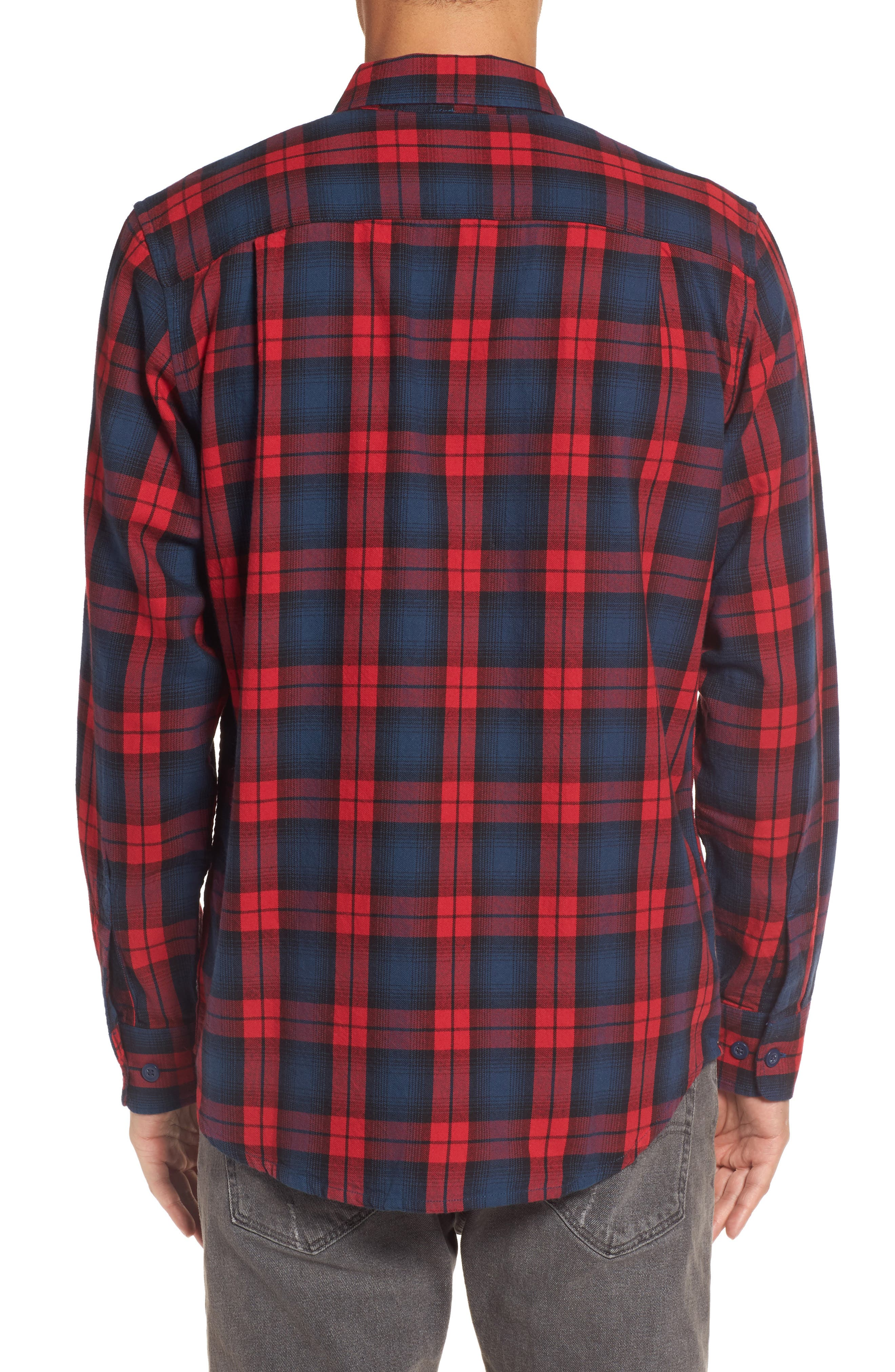 Alternate Image 2  - Obey Norwich Plaid Woven Shirt