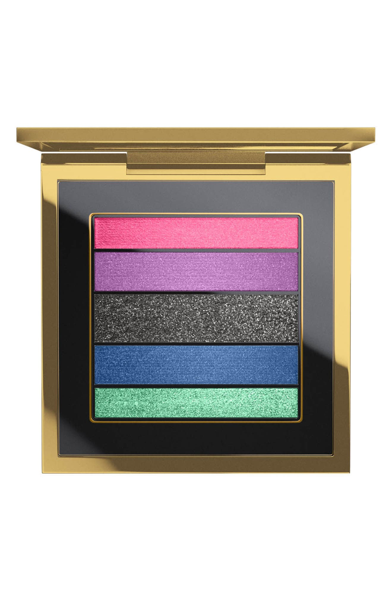 MAC Rossy de Palma Veluxe Pearlfusion Eyeshadow Palette,                             Main thumbnail 1, color,                             Colours On The Verge