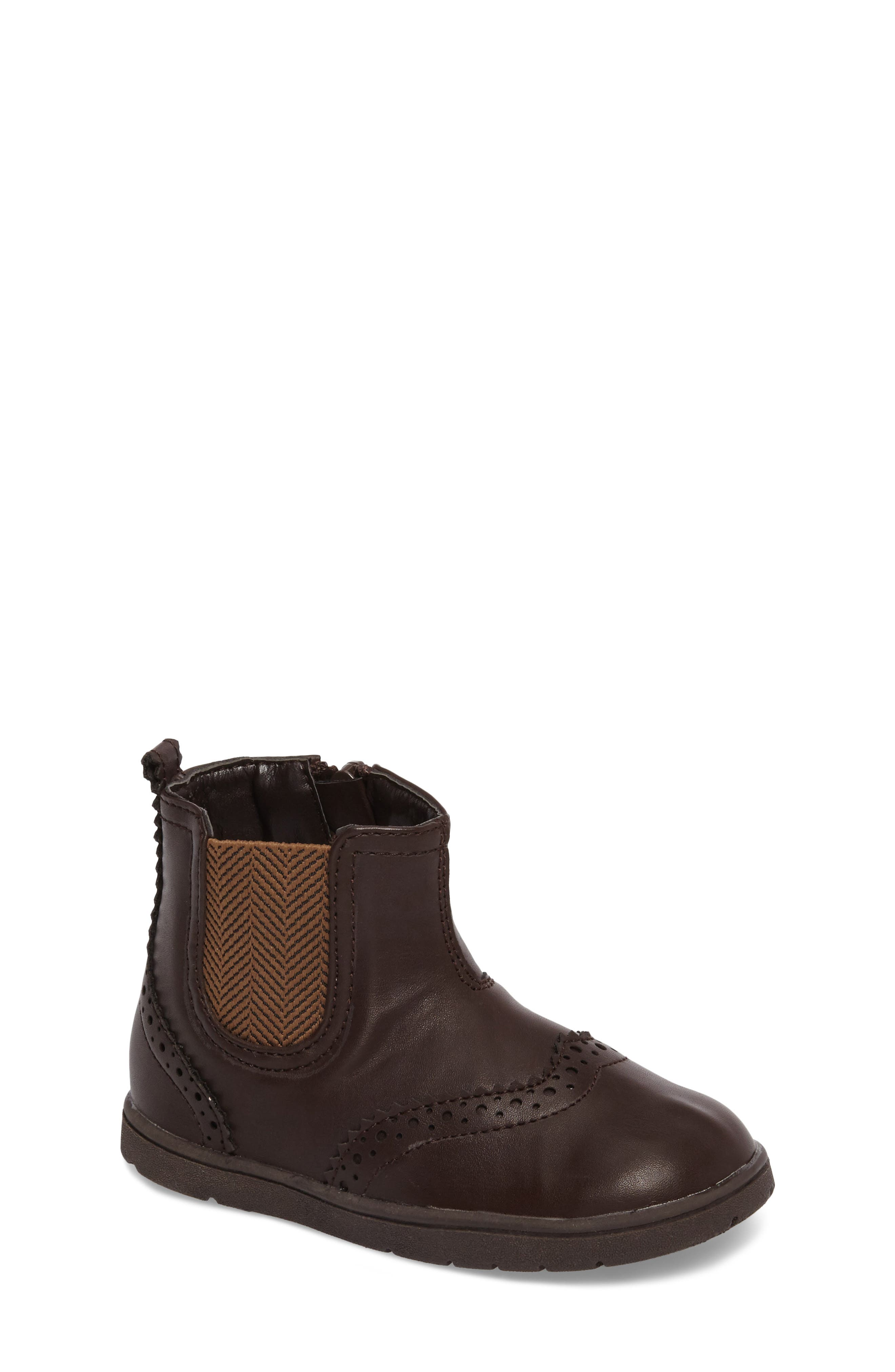 Alternate Image 1 Selected - Kenneth Cole New York Peace Wing Bootie (Baby, Walker & Toddler)
