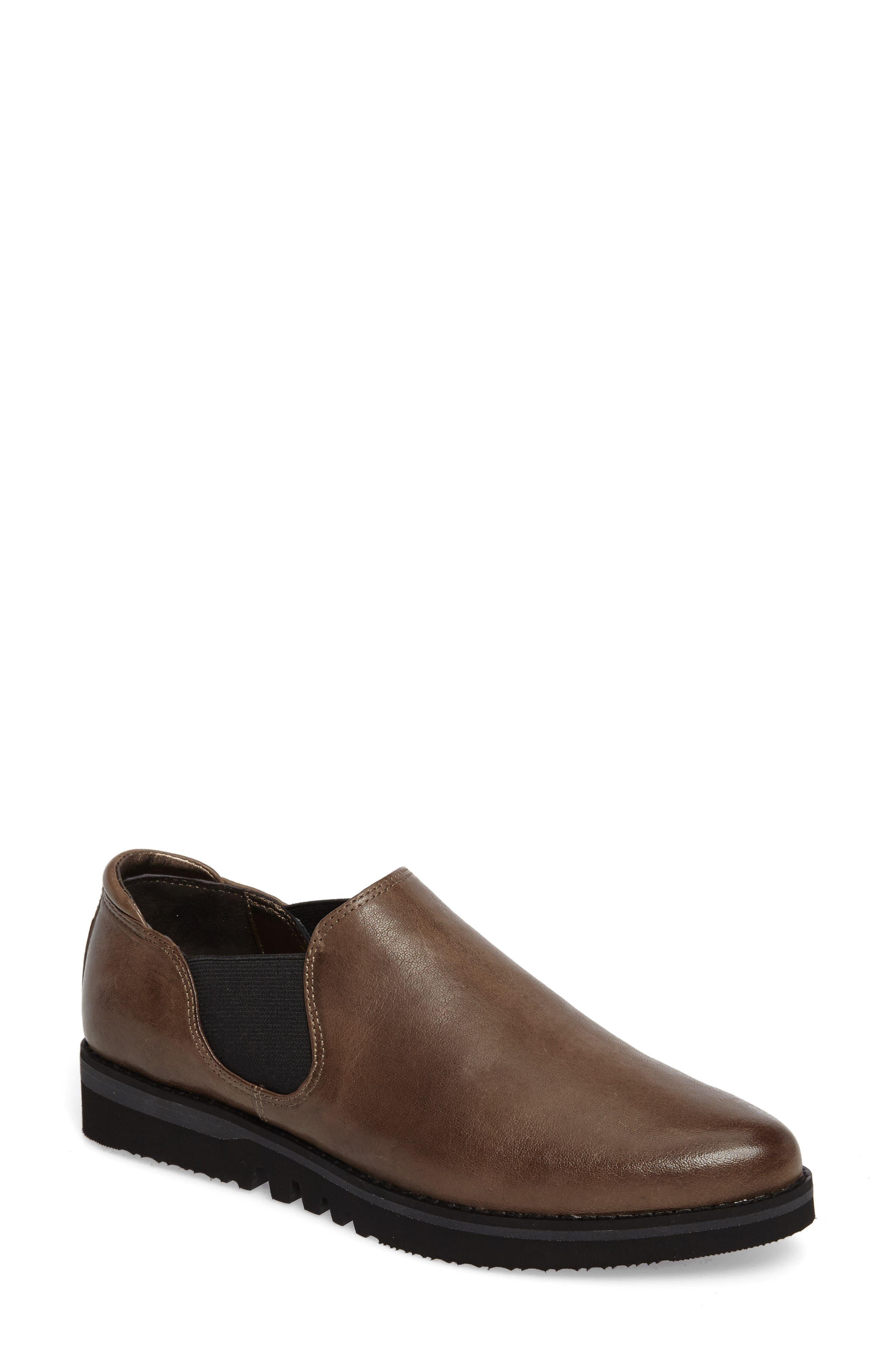 Brooklyn Slip-On,                         Main,                         color, Mushroom Leather