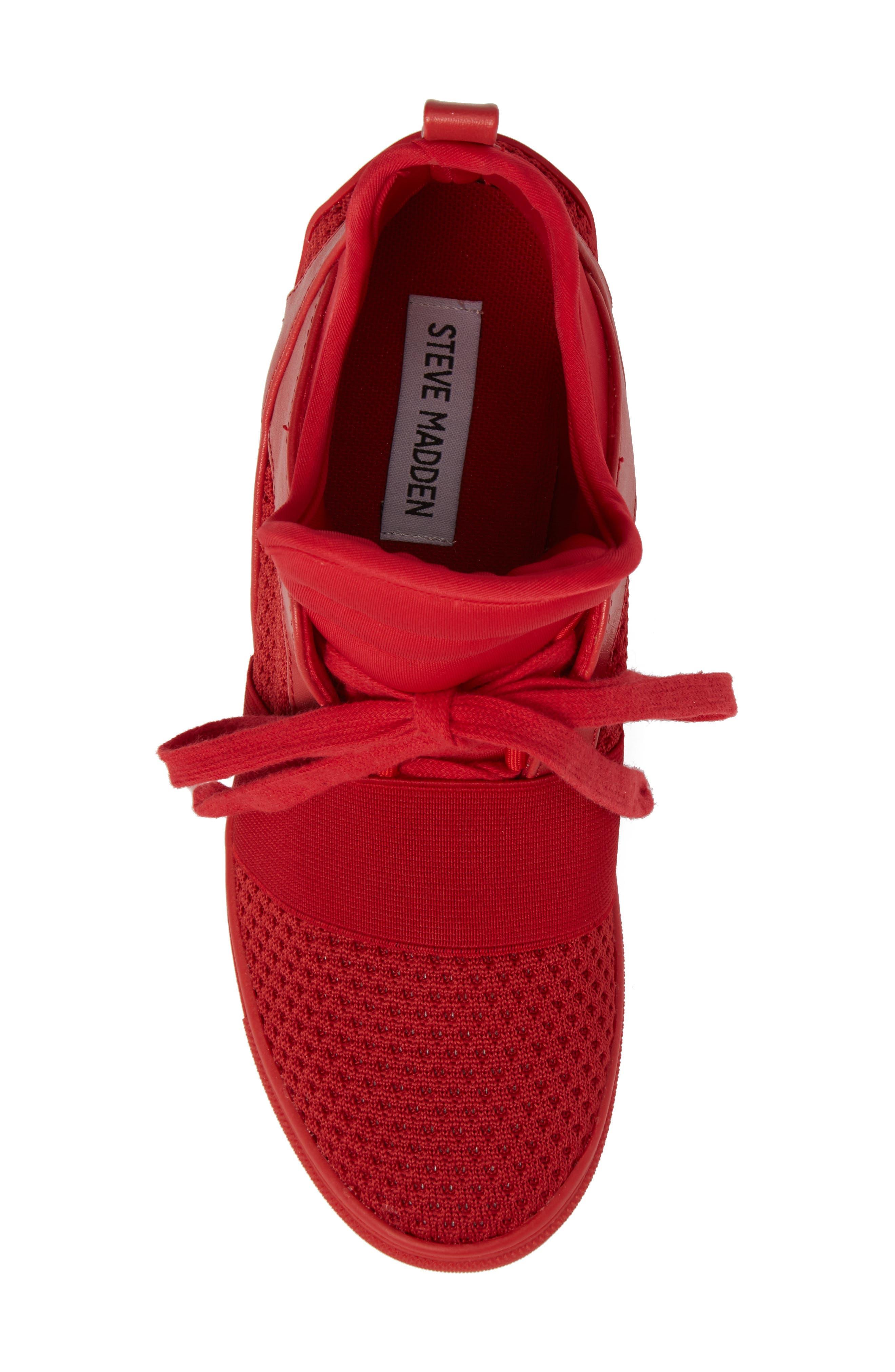 Alternate Image 5  - Steve Madden Lexie Wedge Sneaker (Women)