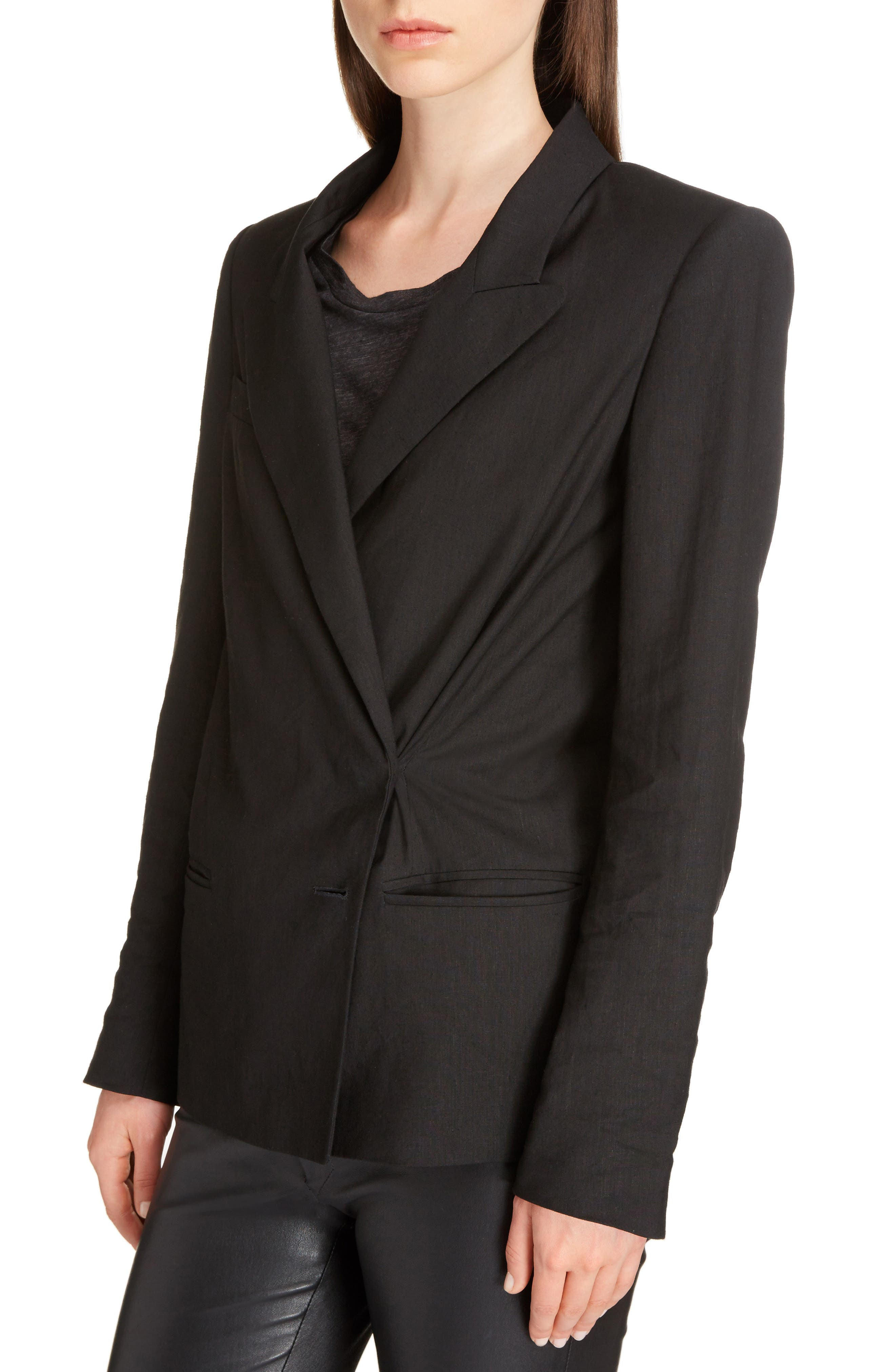 Alternate Image 4  - Isabel Marant Riane Stretch Linen Blend Blazer