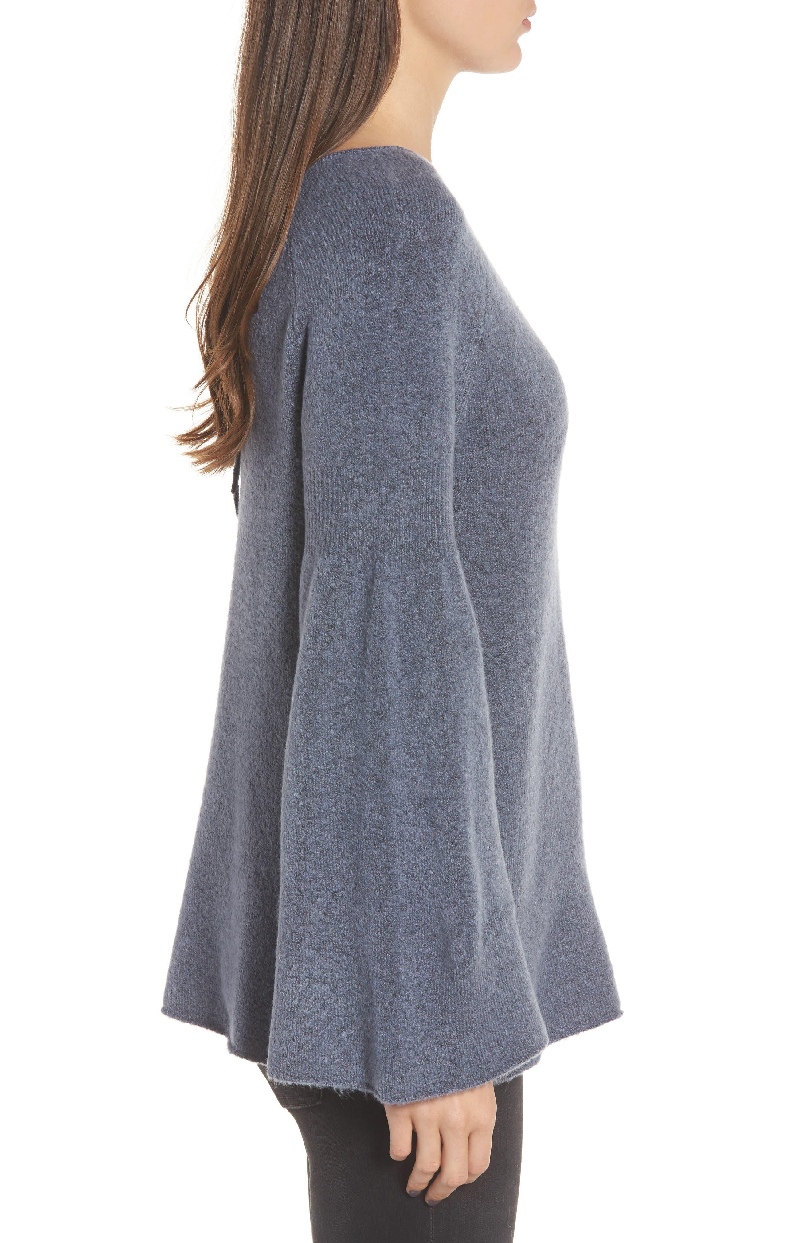 Alternate Image 3  - Hinge Bell Sleeve Sweater