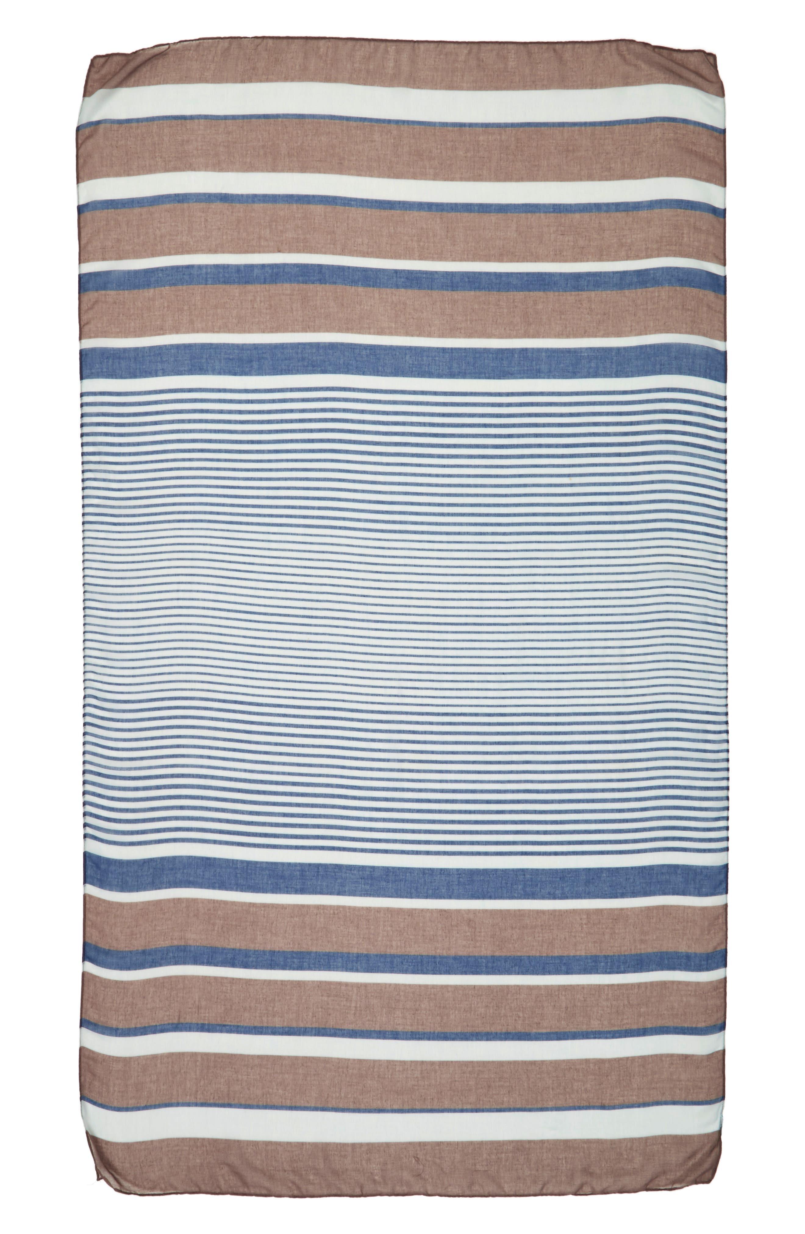 Alternate Image 2  - Accessory Collective Multi Stripe Oblong Scarf
