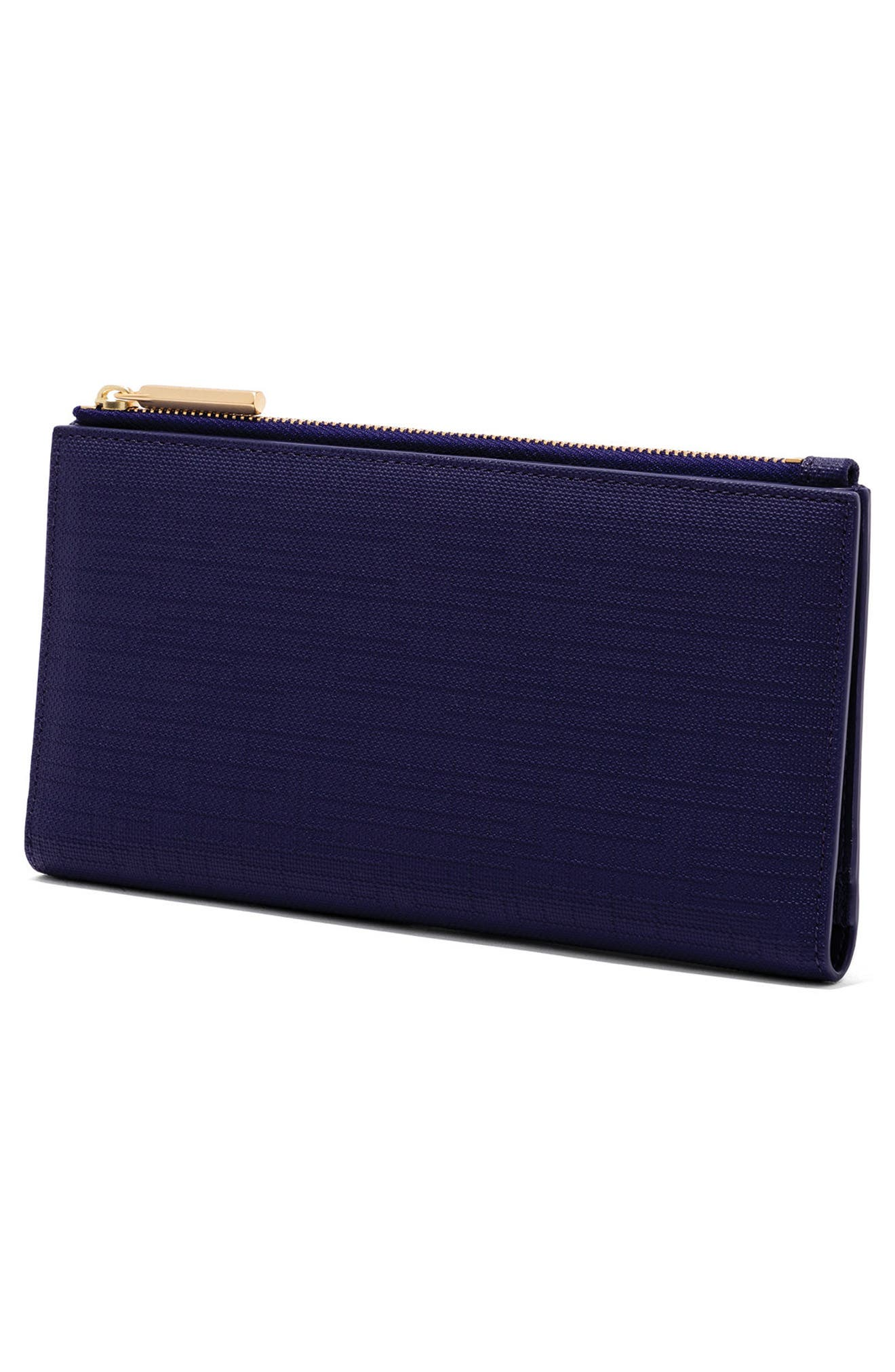 Alternate Image 4  - Dagne Dover Signature Slim Coated Canvas Wallet