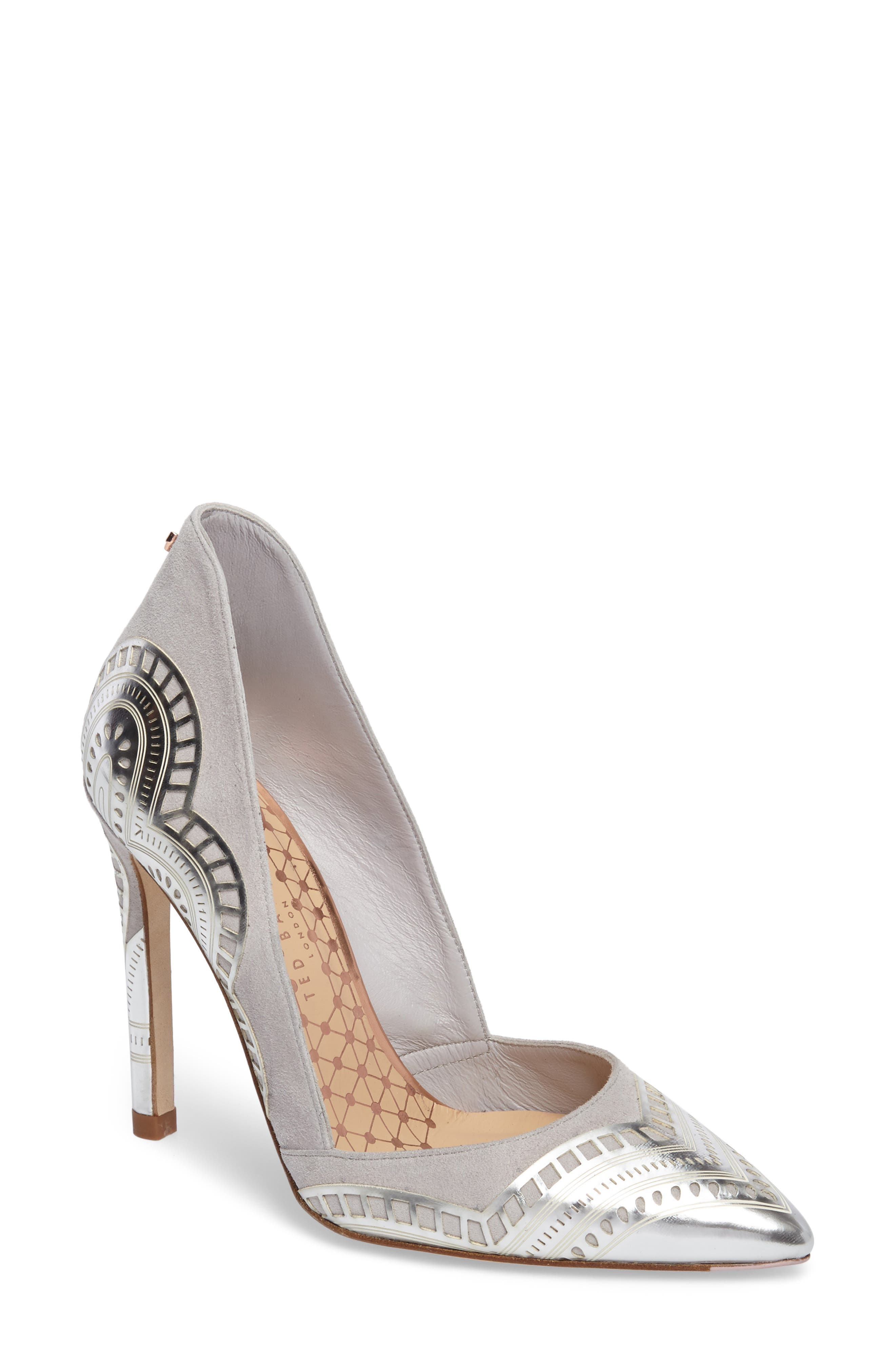 Ted Baker London Kwistina Pointy Toe Pump (Women)