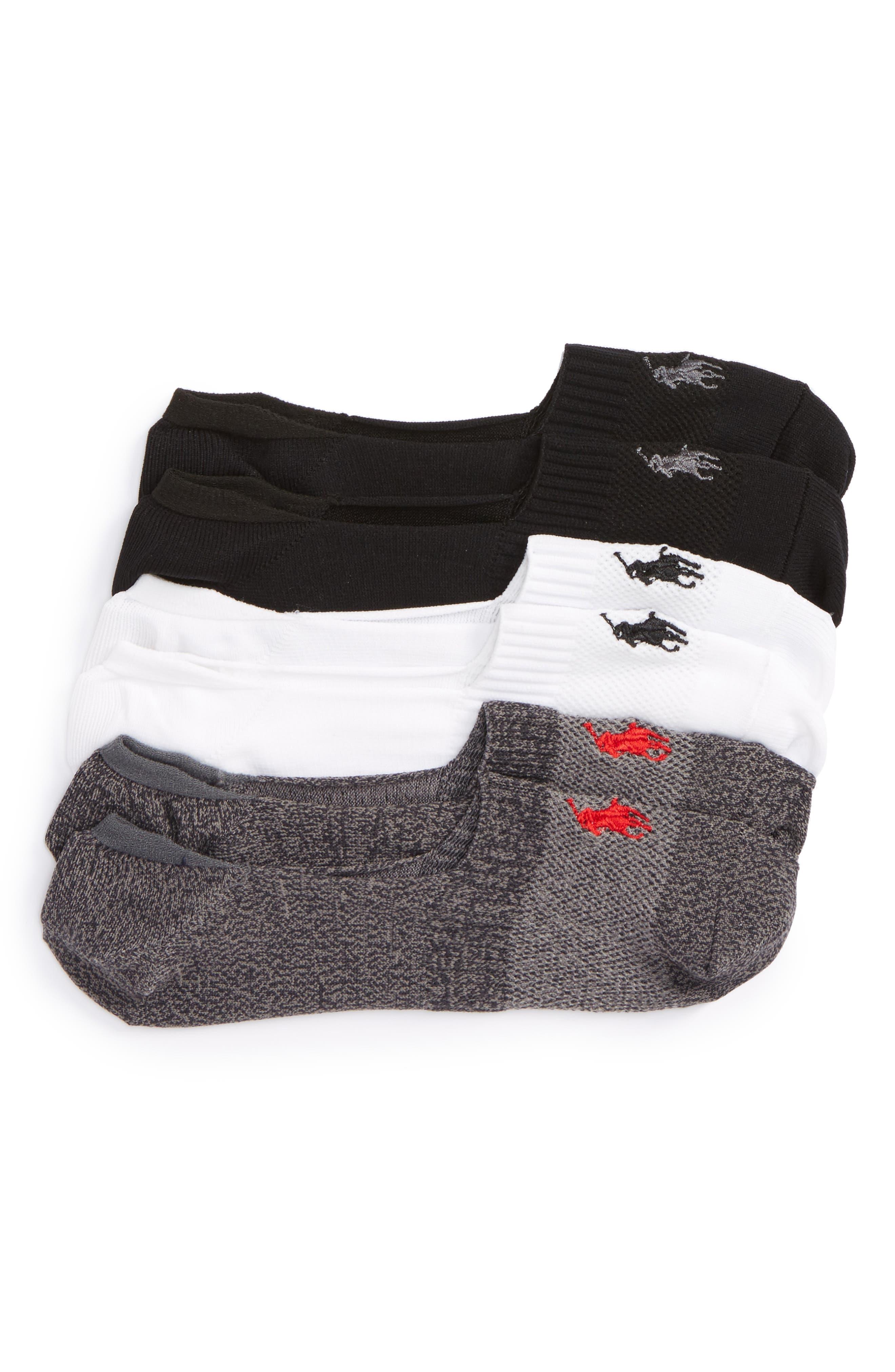 Polo Ralph Lauren 3-Pack Liner Socks