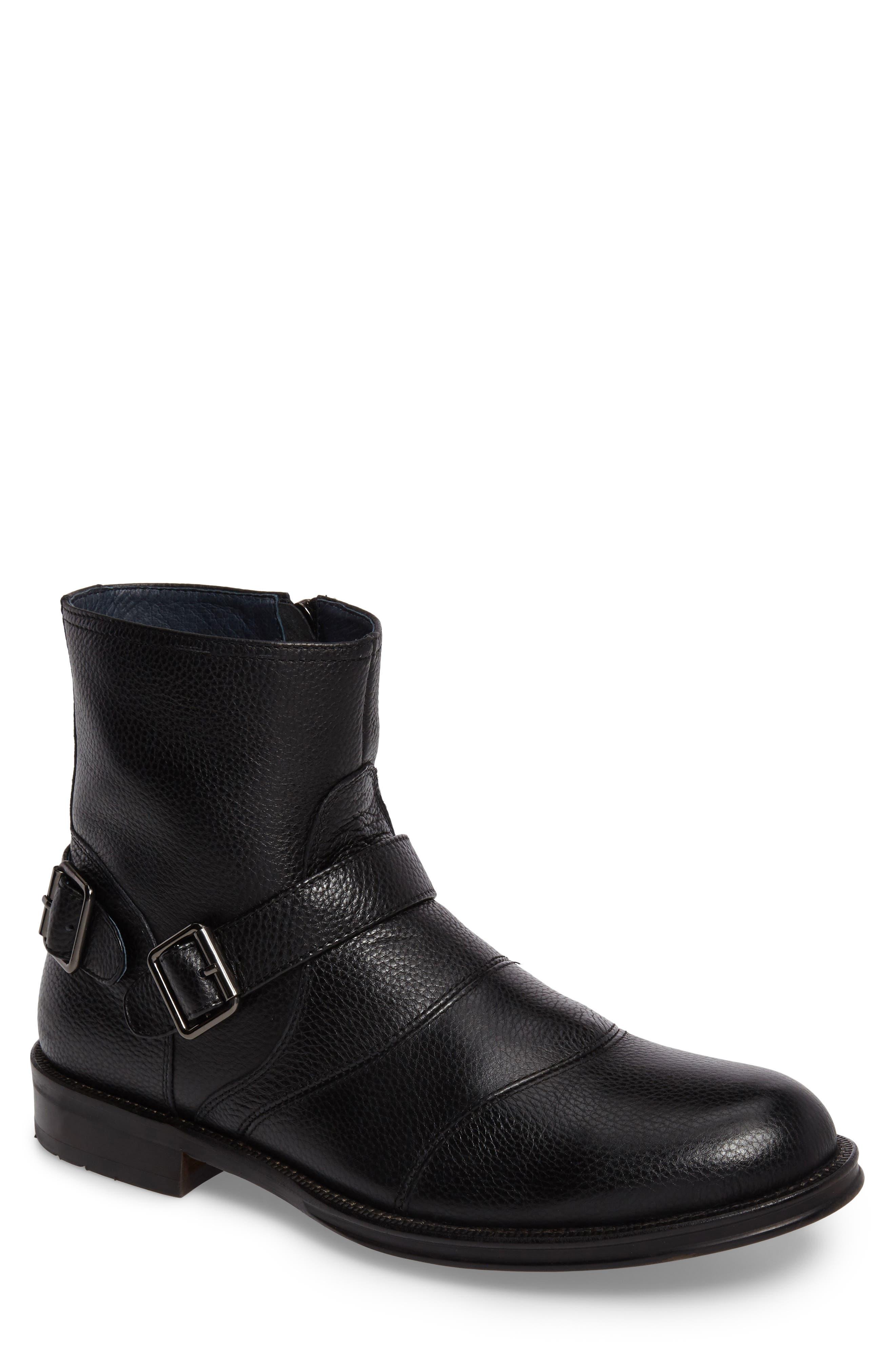 Zanzara Men's Howson Buckle Strap Boot