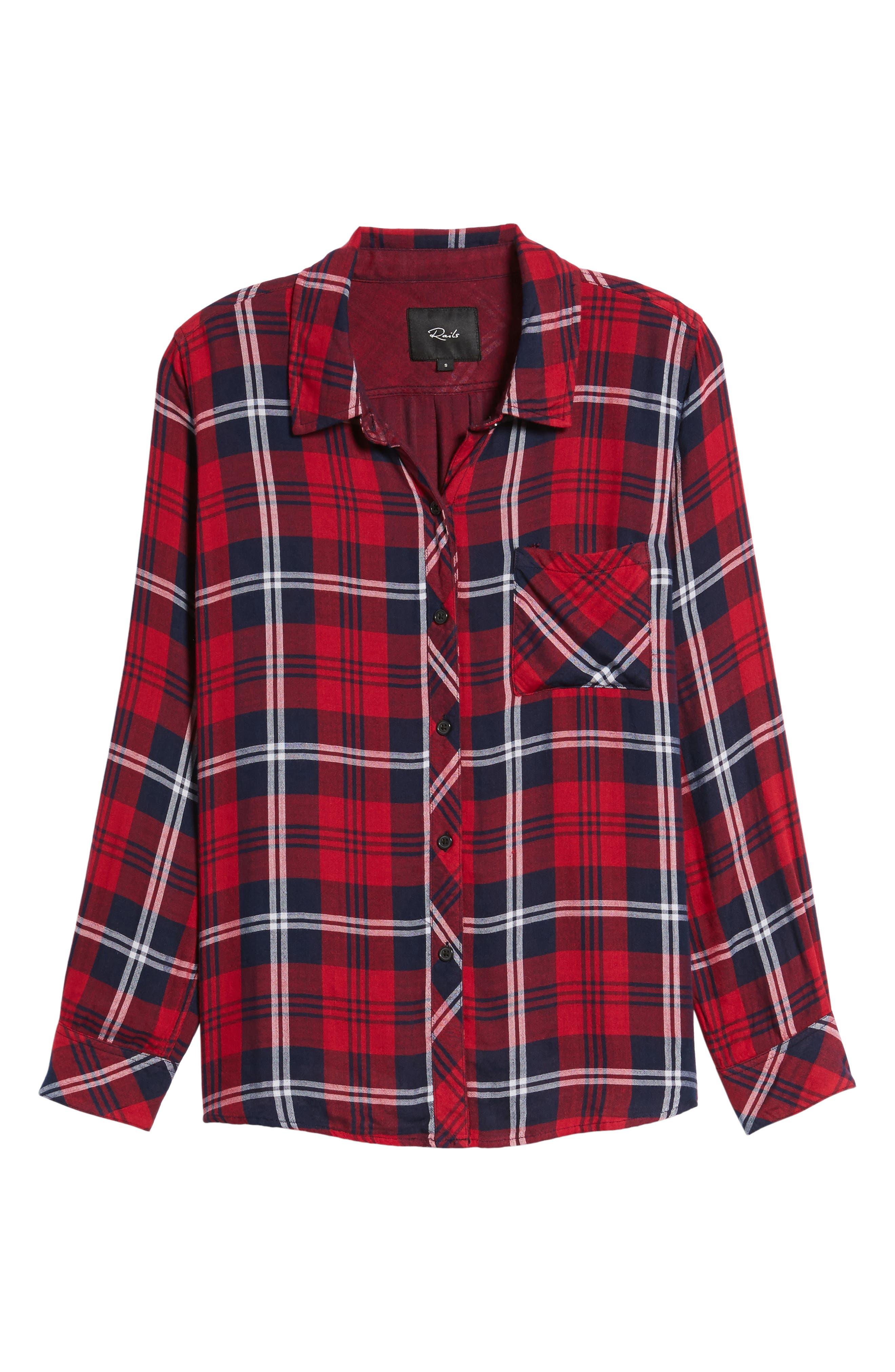 Alternate Image 6  - Rails Taitum Plaid Shirt