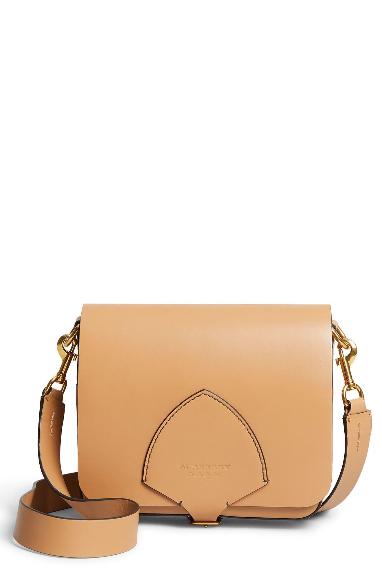Alternate Image 1 Selected - Burberry Leather Shoulder Bag
