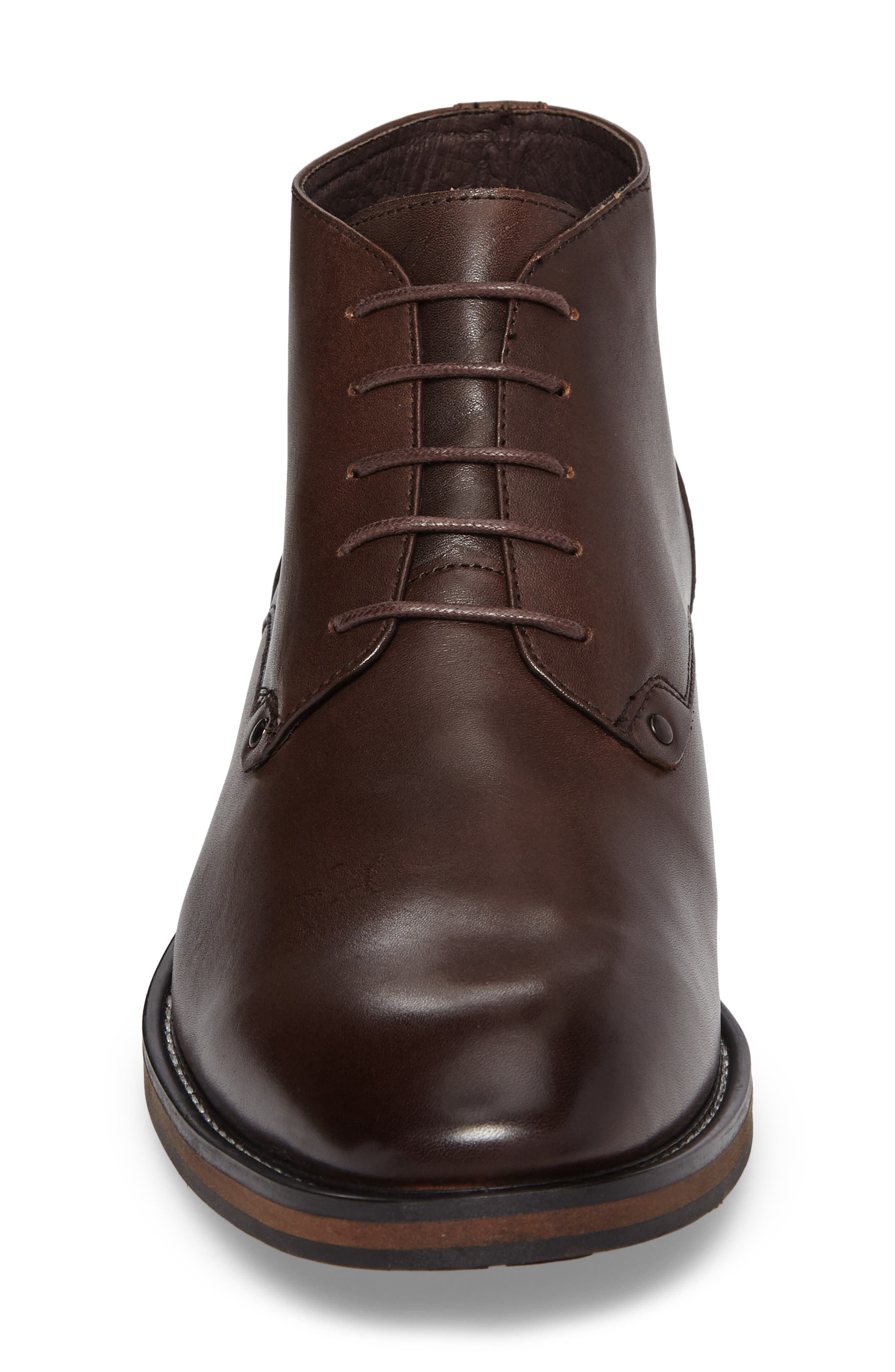 Malta Low Boot,                             Alternate thumbnail 4, color,                             Brown Leather
