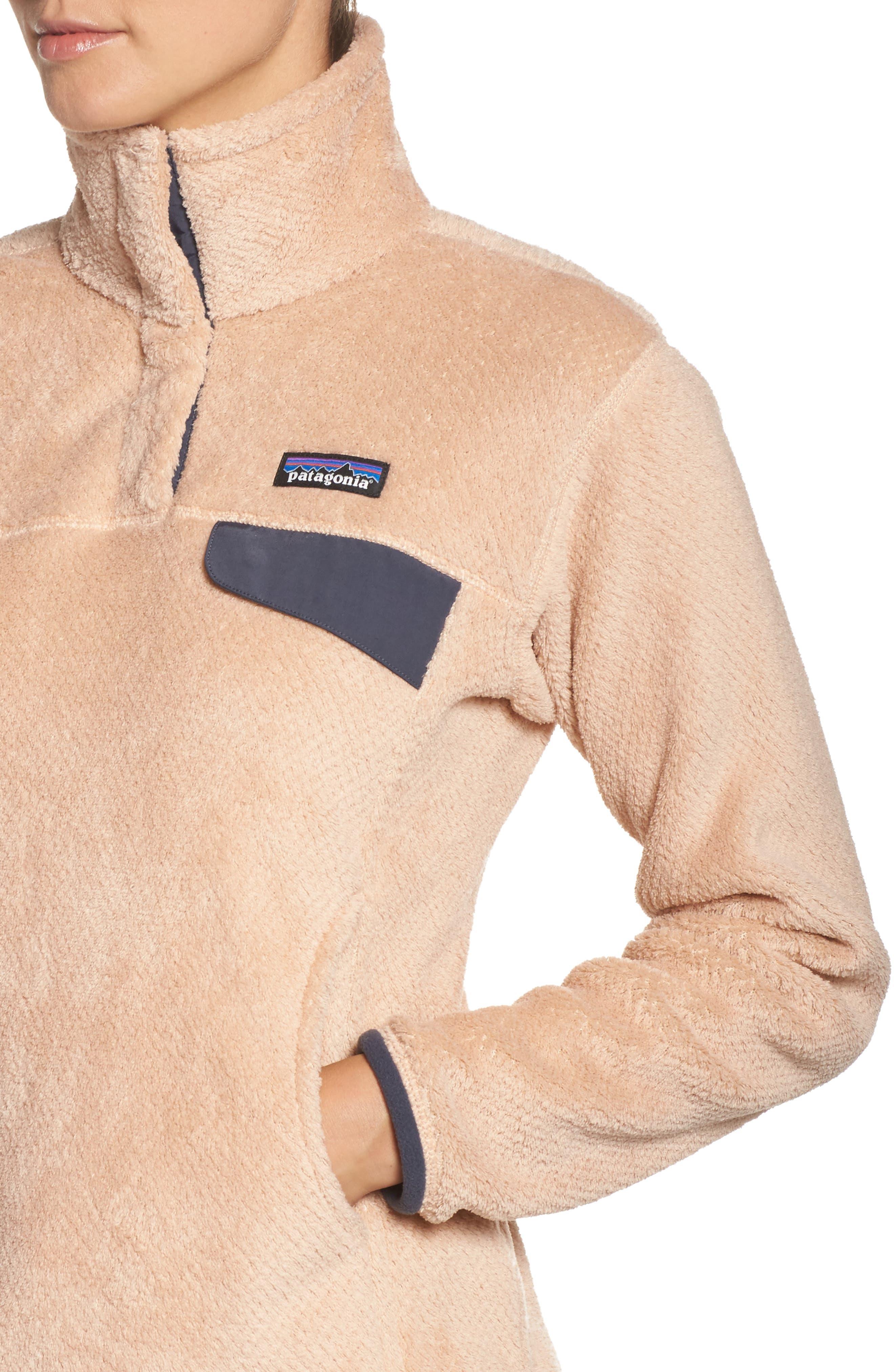 Alternate Image 4  - Patagonia Re-Tool Snap-T® Fleece Pullover