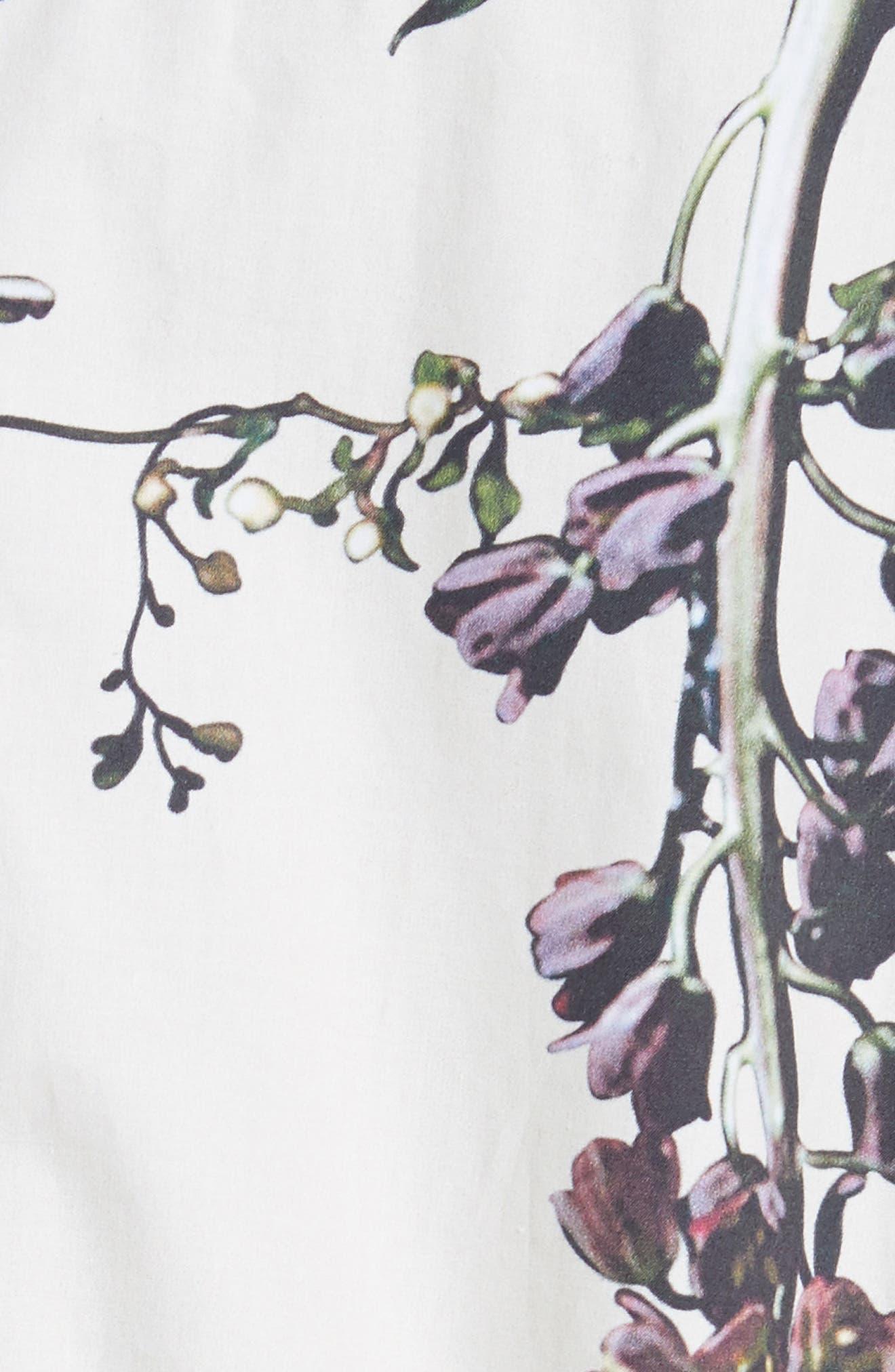 Alternate Image 5  - Adam Lippes Floral Print Poplin Anorak