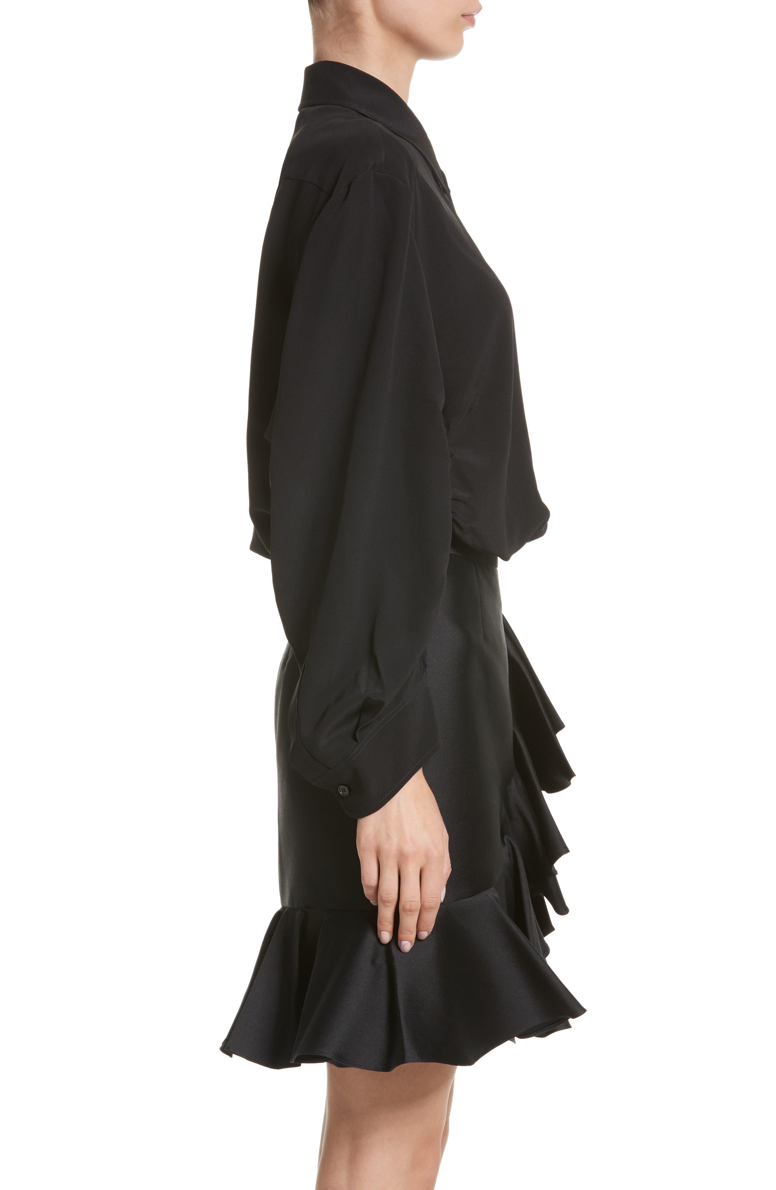 Alternate Image 4  - Stella McCartney Cutaway Silk Blouse