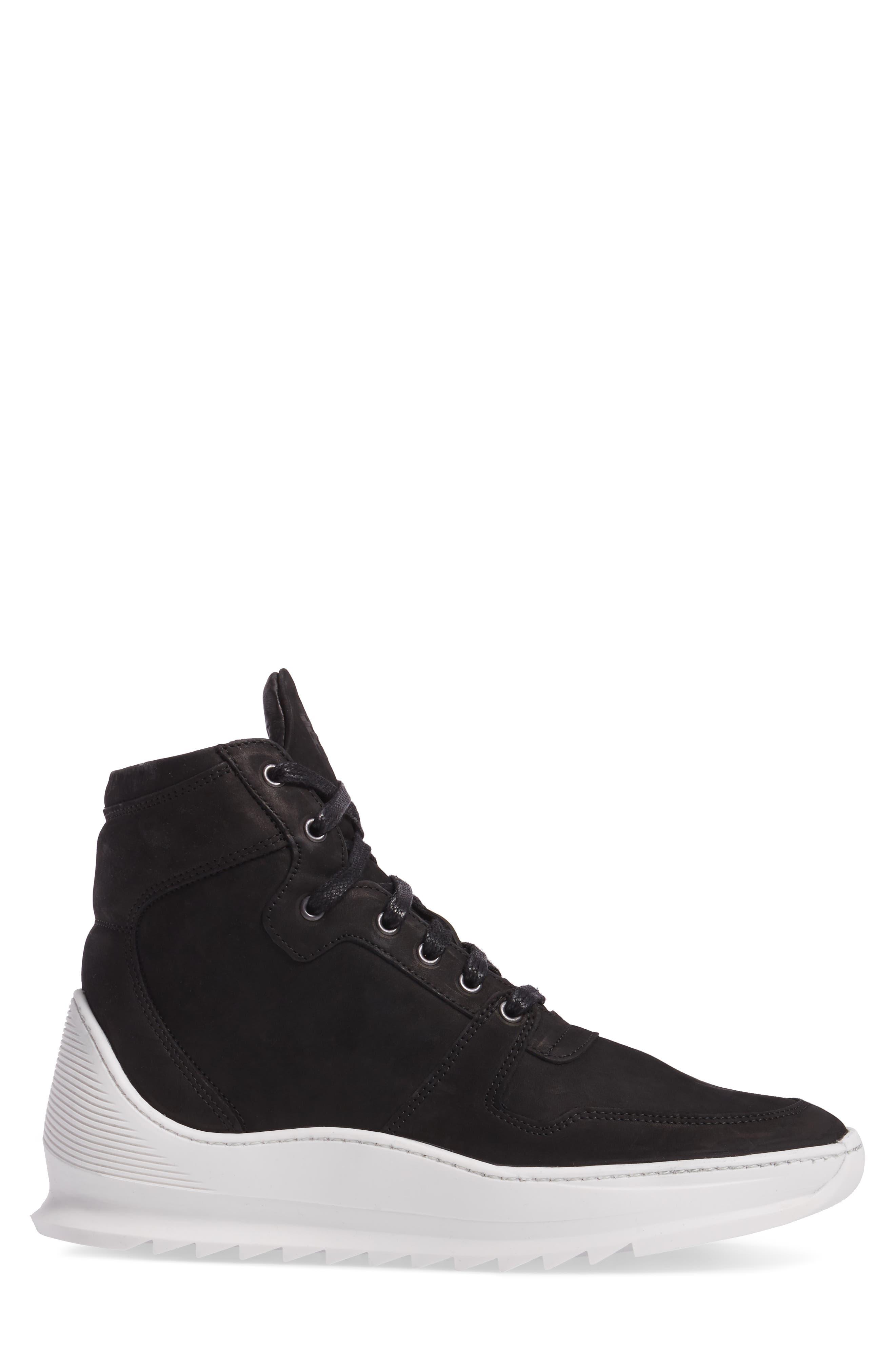 Transformed Sneaker,                             Alternate thumbnail 3, color,                             Basic Black