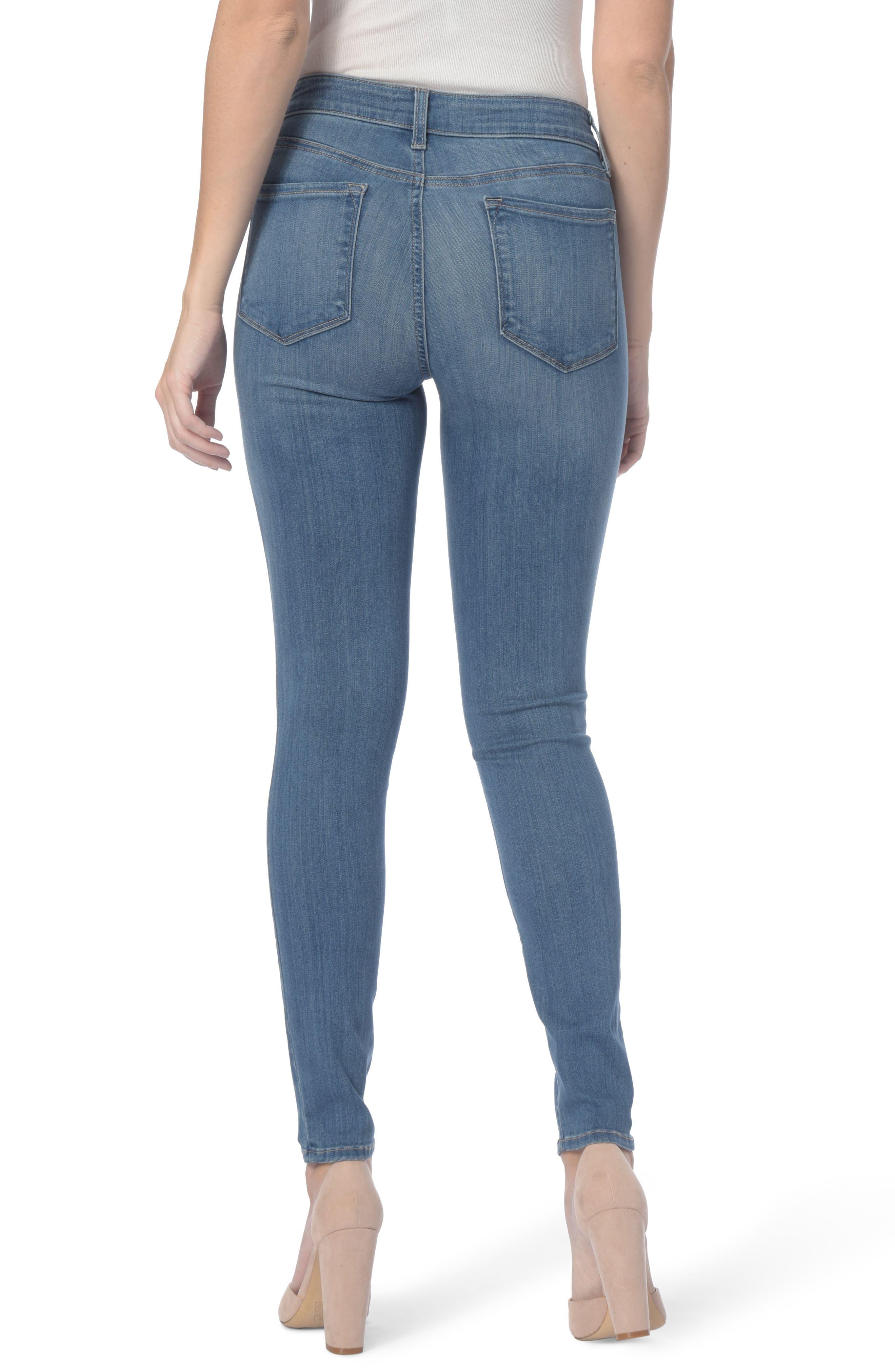 Alternate Image 2  - NYDJ Ami Stretch Super Skinny Jeans (Regular & Petite)