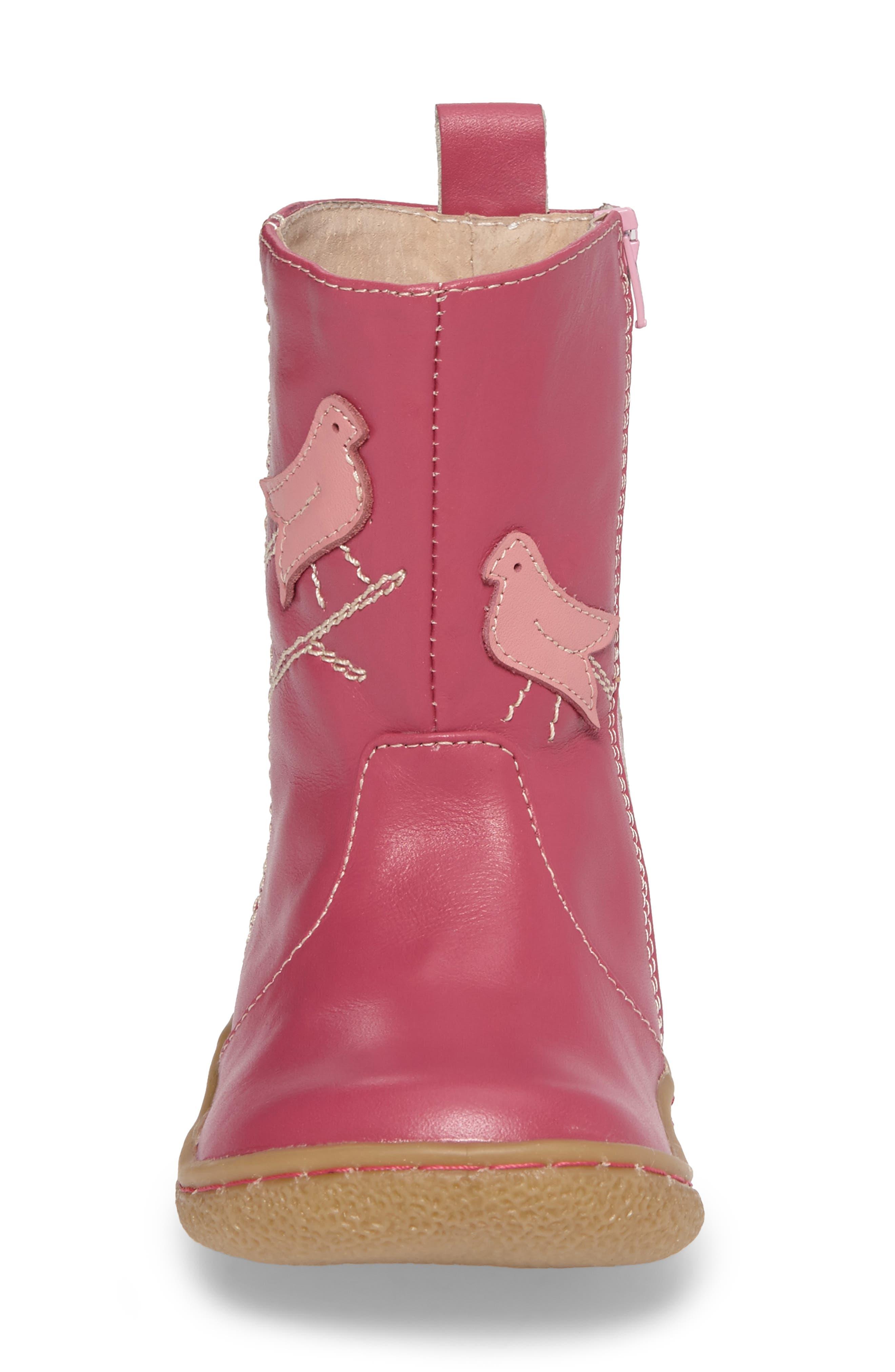 Alternate Image 4  - Livie & Luca Pio Pio Bird Appliqué Boot (Baby, Walker, Toddler & Little Kid)
