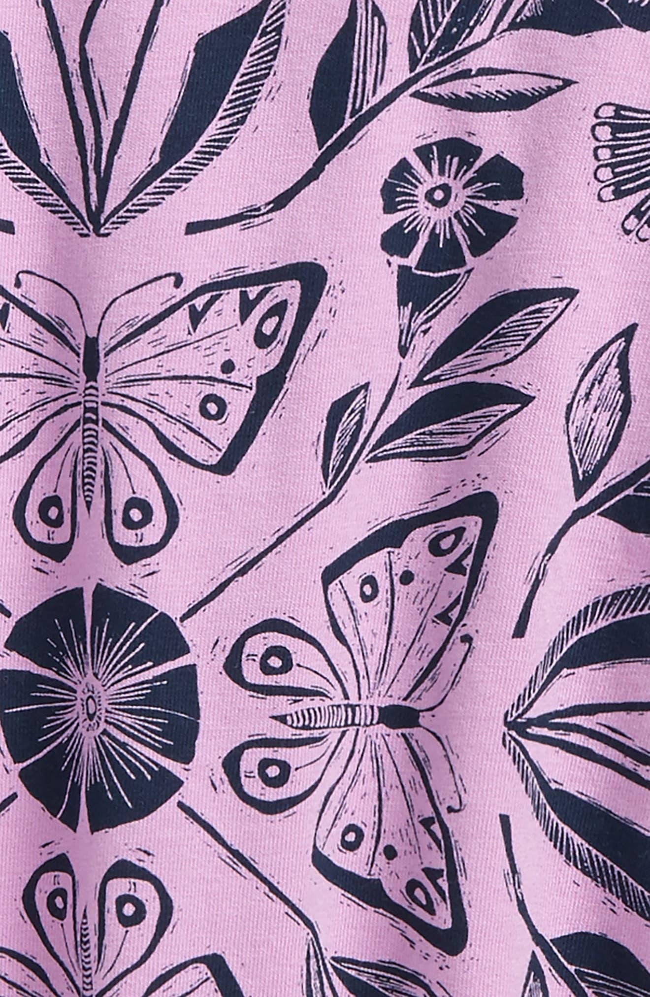 Alternate Image 2  - Tea Collection Marsh Violet Twirl Top (Toddler Girls, Little Girls & Big Girls)