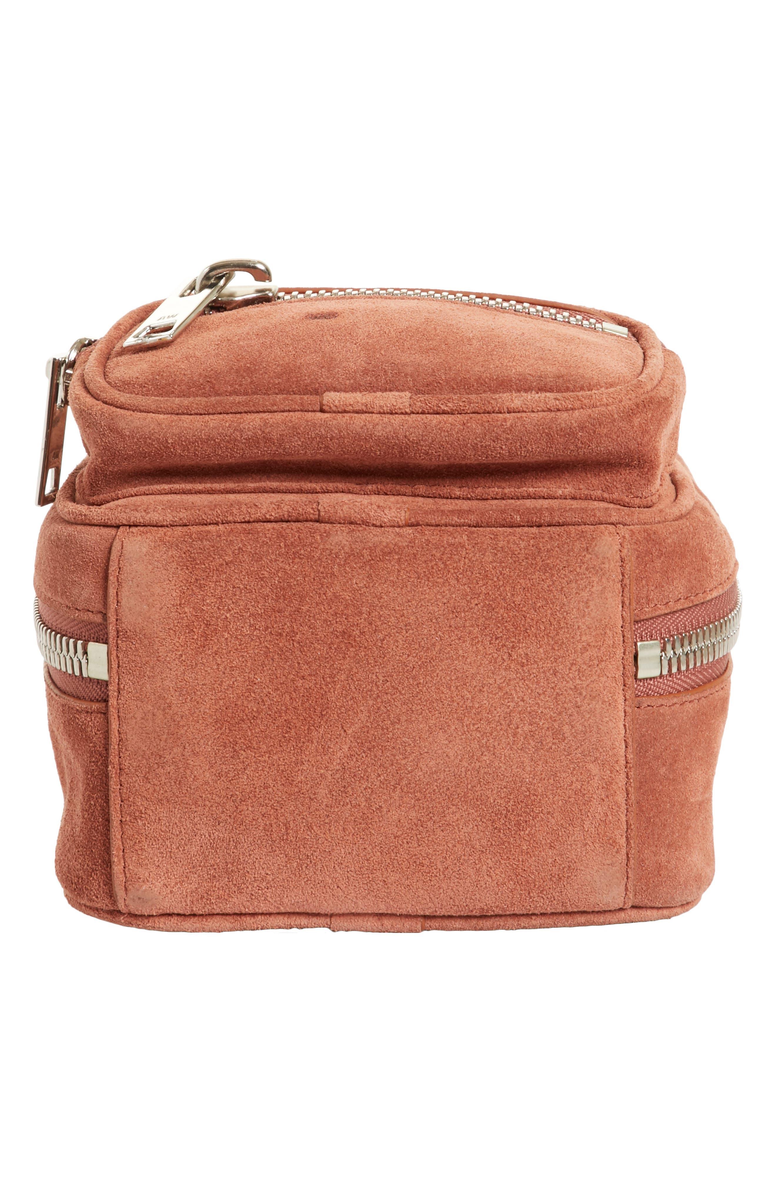 Alternate Image 6  - Alexander Wang Mini Attica Suede Backpack-Shaped Crossbody Bag