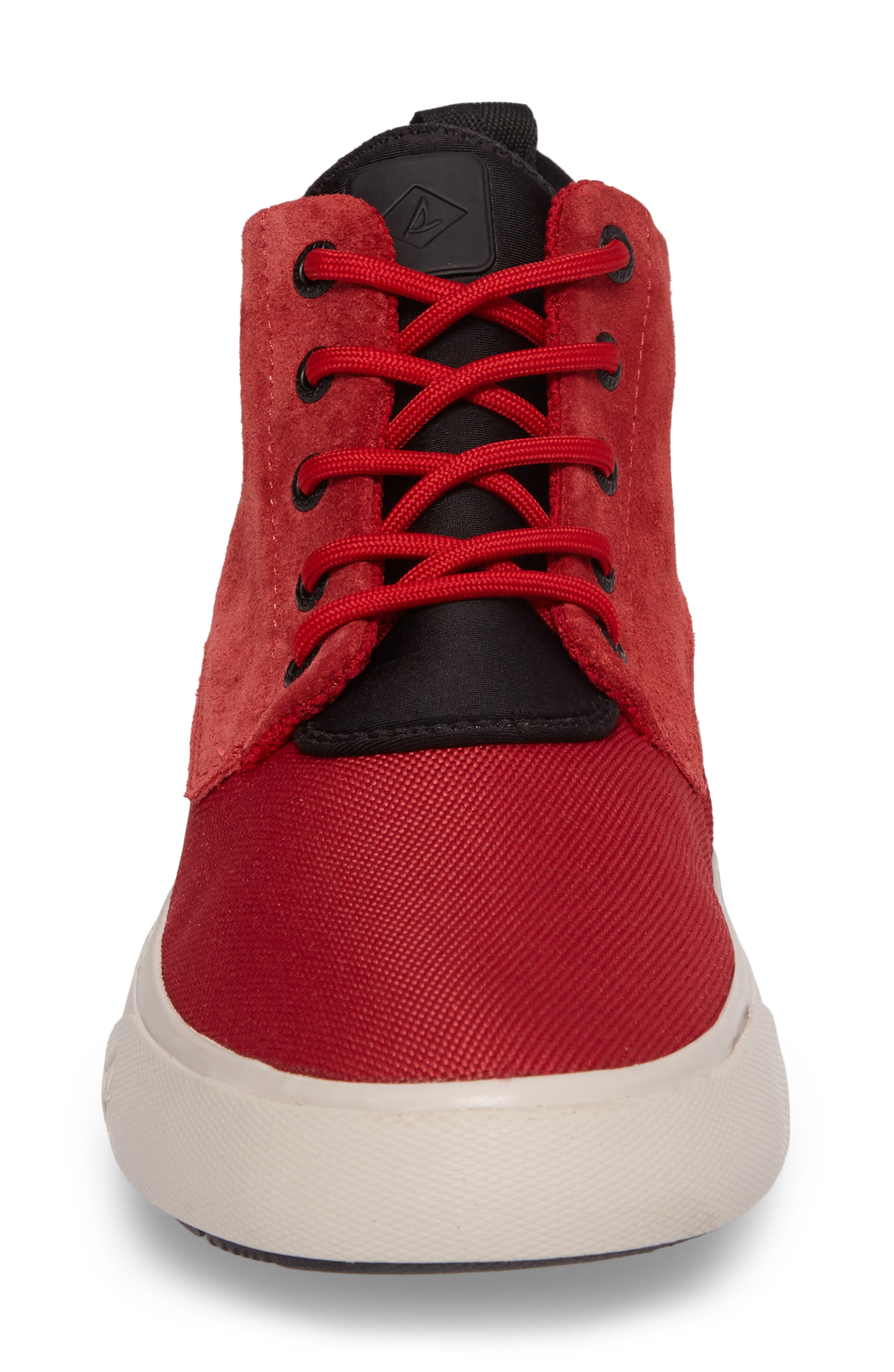 Cutwater Sneaker,                             Alternate thumbnail 4, color,                             Red